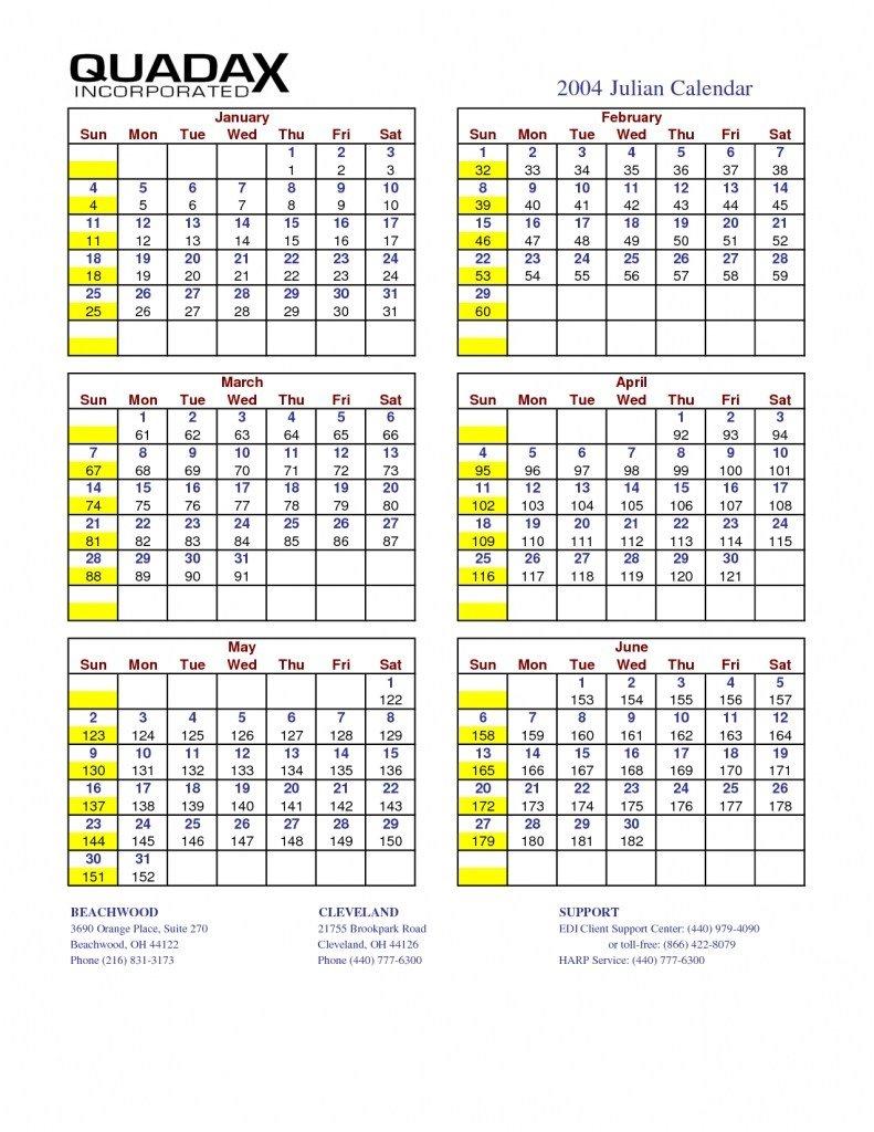 Julian Day Calendar  Yatay.horizonconsulting.co with Julian Date Calendar 2018