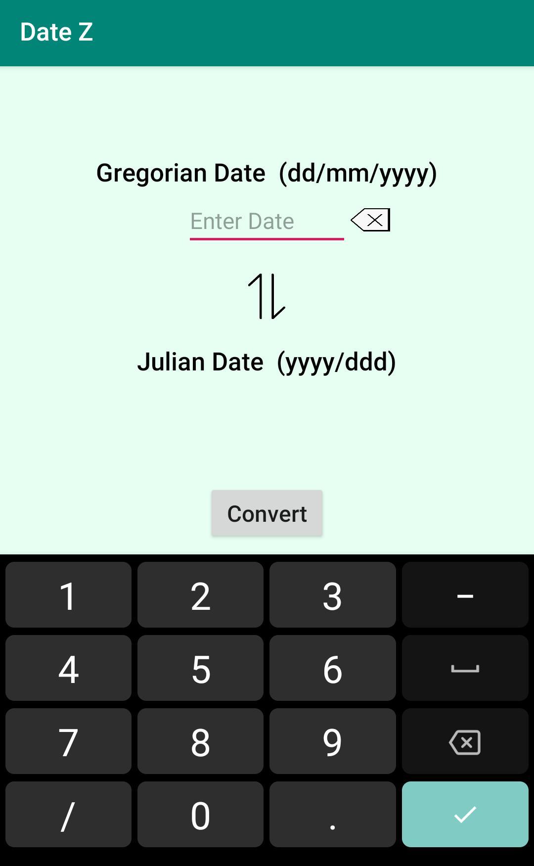 Julian Gregorian Date Converter Для Андроид  Скачать Apk pertaining to Convert Julian Date To Regular Date