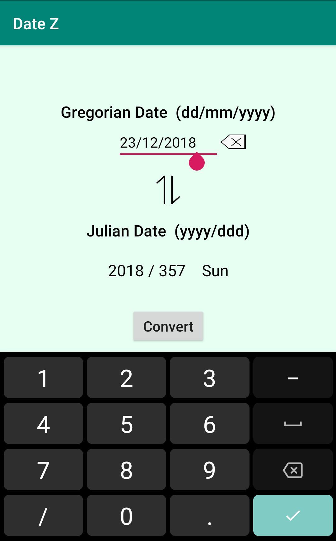 Julian Gregorian Date Converter Для Андроид  Скачать Apk with regard to Convert Julian Date To Regular Date