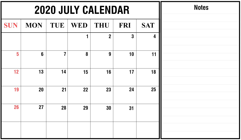 July 2020 Calendar Excel | Printable December Calendar Template pertaining to Calendar Excel Template 2020