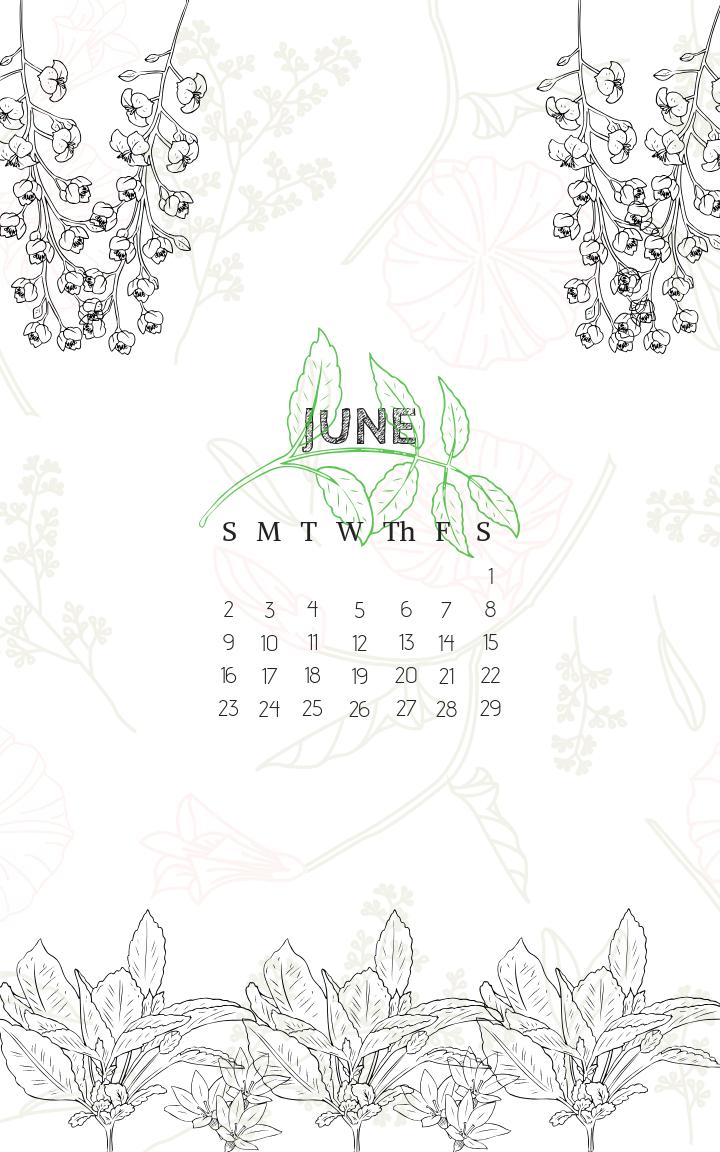 June 2019 Iphone Lock Screen Background Wallpaper Calendar pertaining to Calendar On Lock Screen Iphone