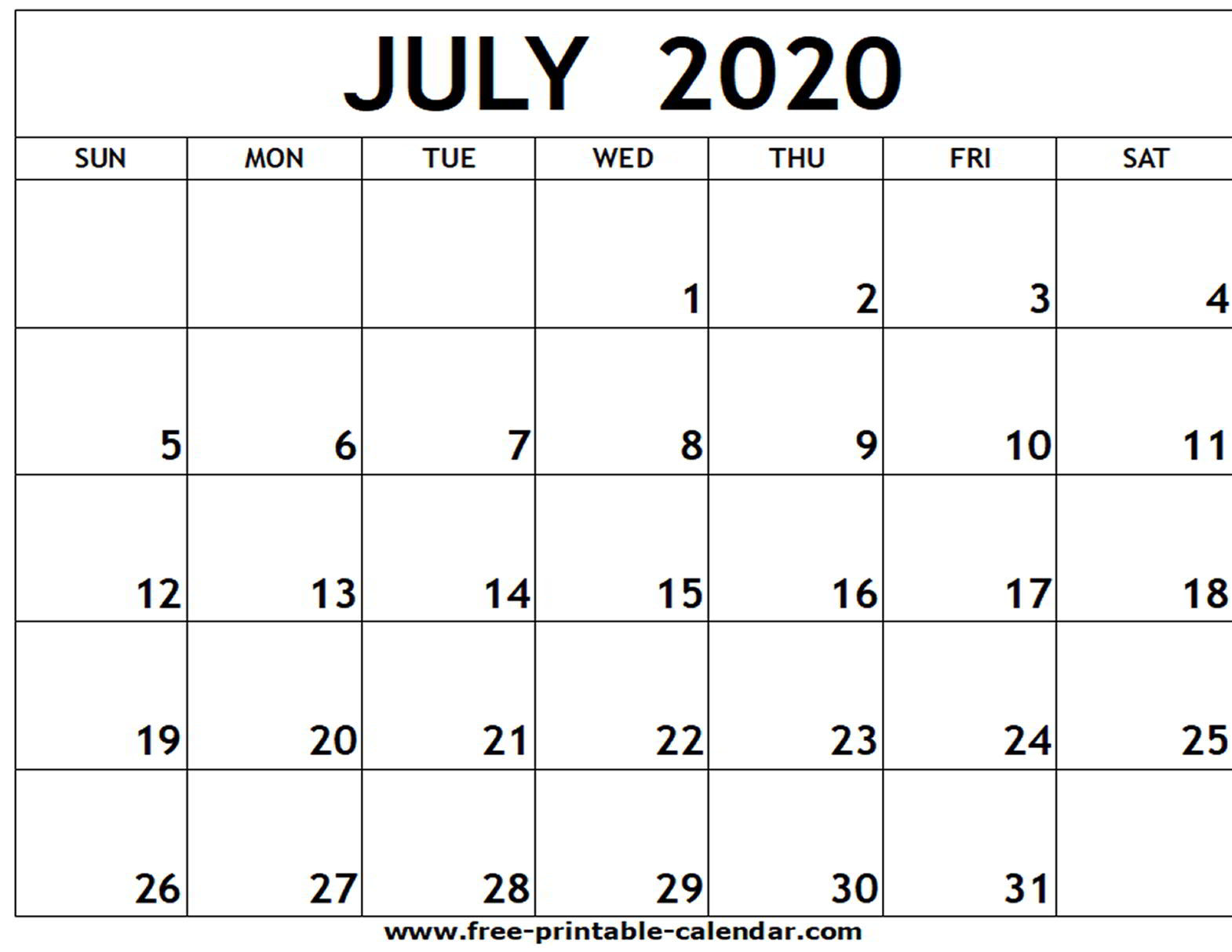 June 2020 Calendar Word  Yatay.horizonconsulting.co pertaining to Printable June 2020 Calendar