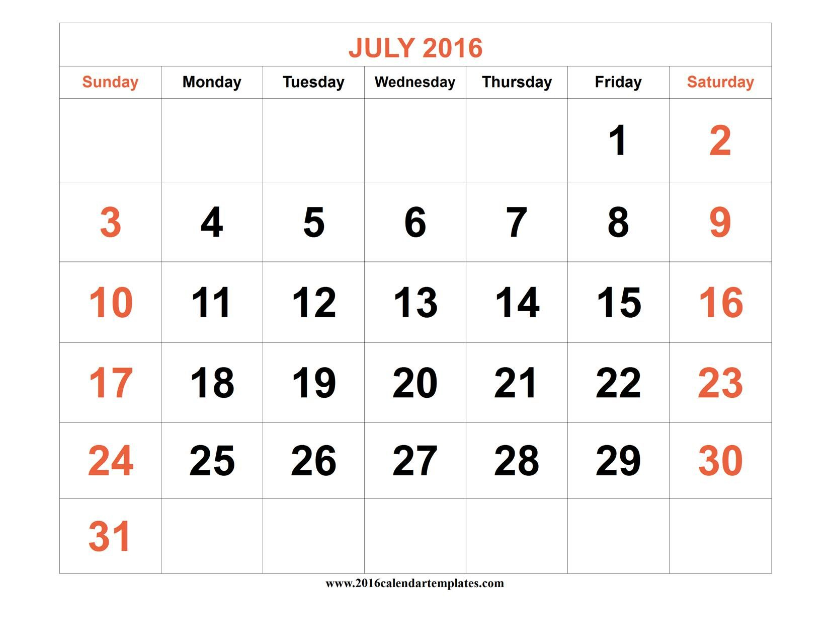 June And July 2016 Calendar | July Calendar, Calendar, Excel with July 2016 Calendar With Holidays