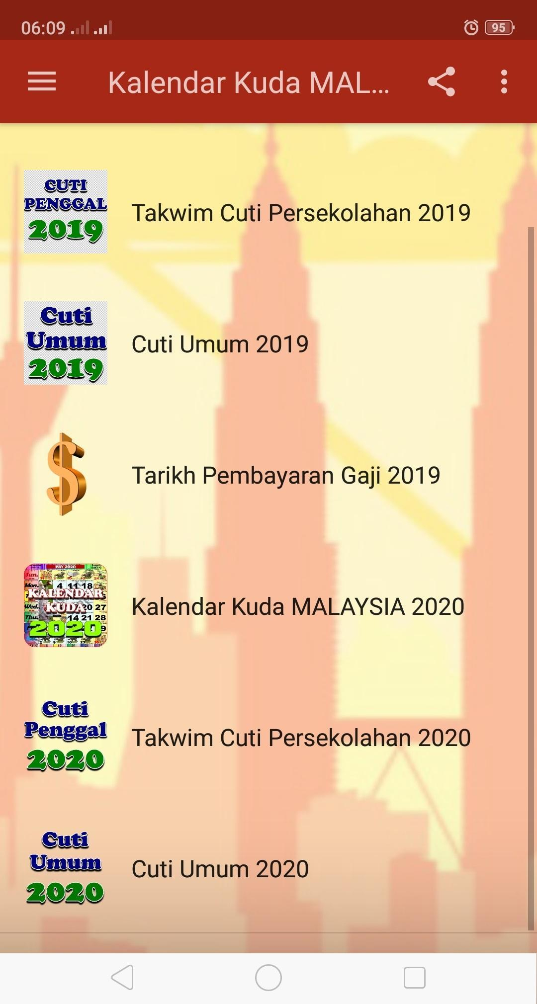 Kalendar Kuda Malaysia  2020 For Android  Apk Download within Calendar Kuda January 2020
