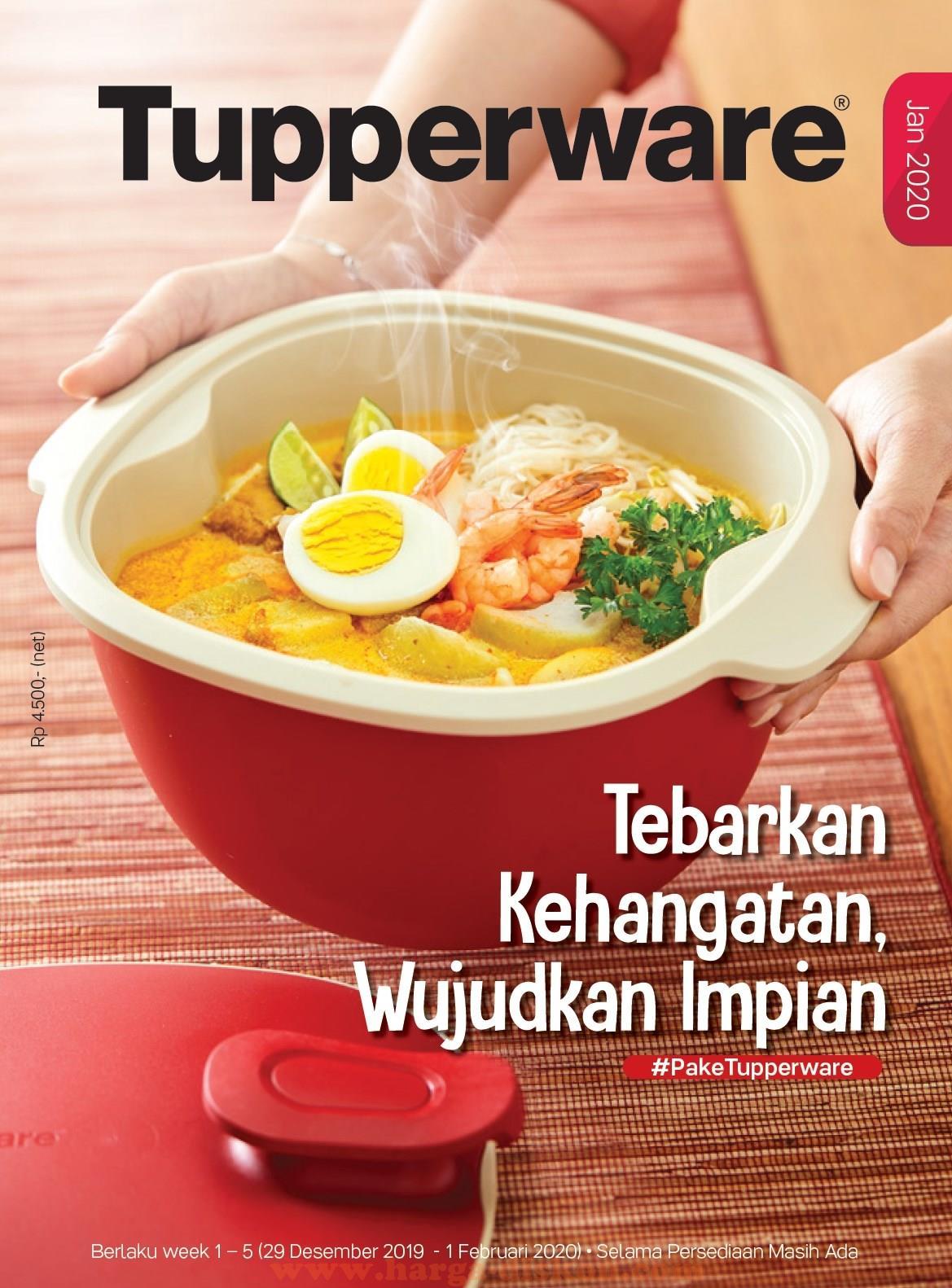 Katalog Tupperware Promo Tupperware Januari 2020 | Harga Diskon inside Tupperware Jan 2020