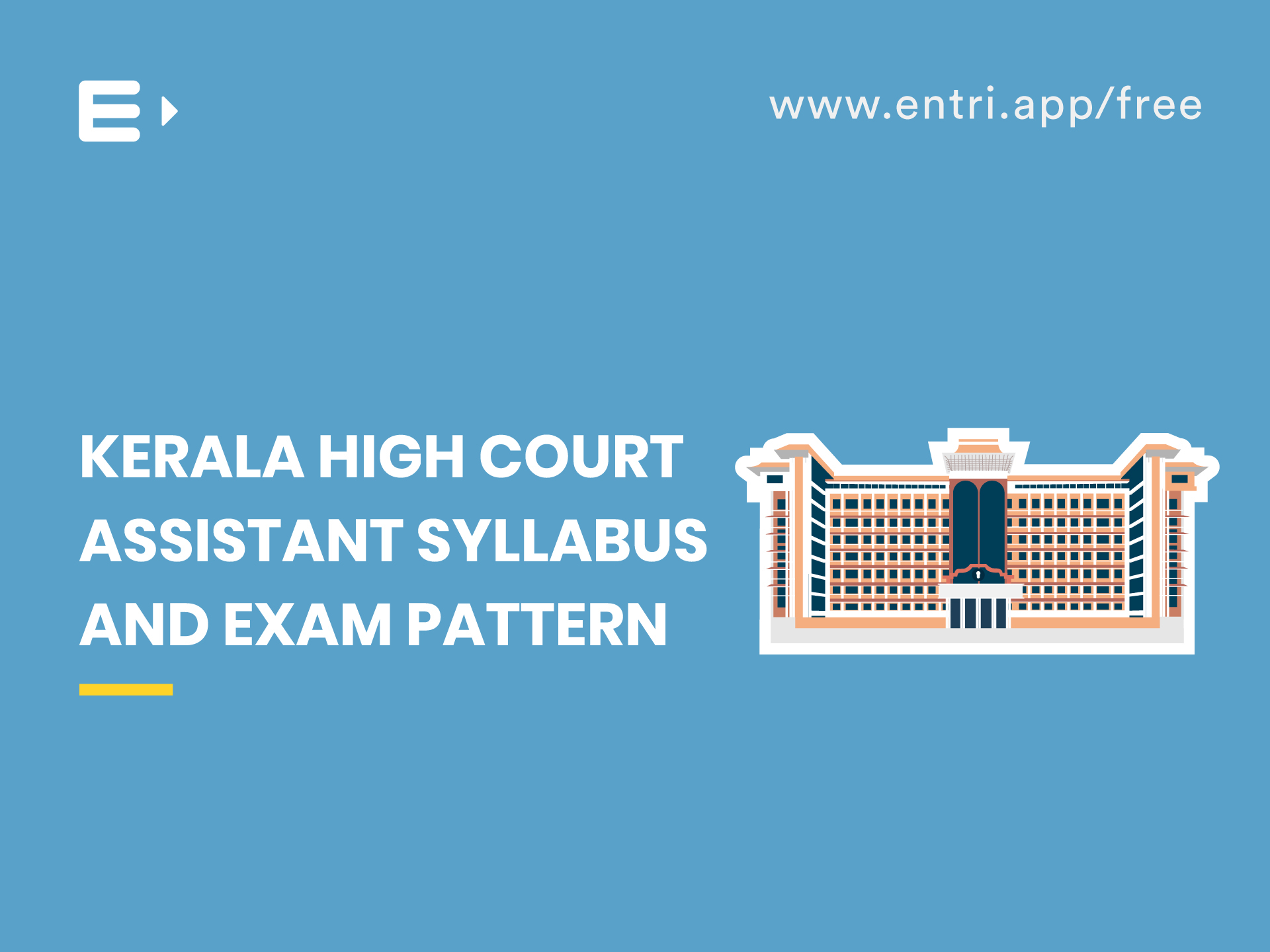 Kerala High Court Assistant  Syllabus And Exam Pattern pertaining to Kerala High Court Calendar