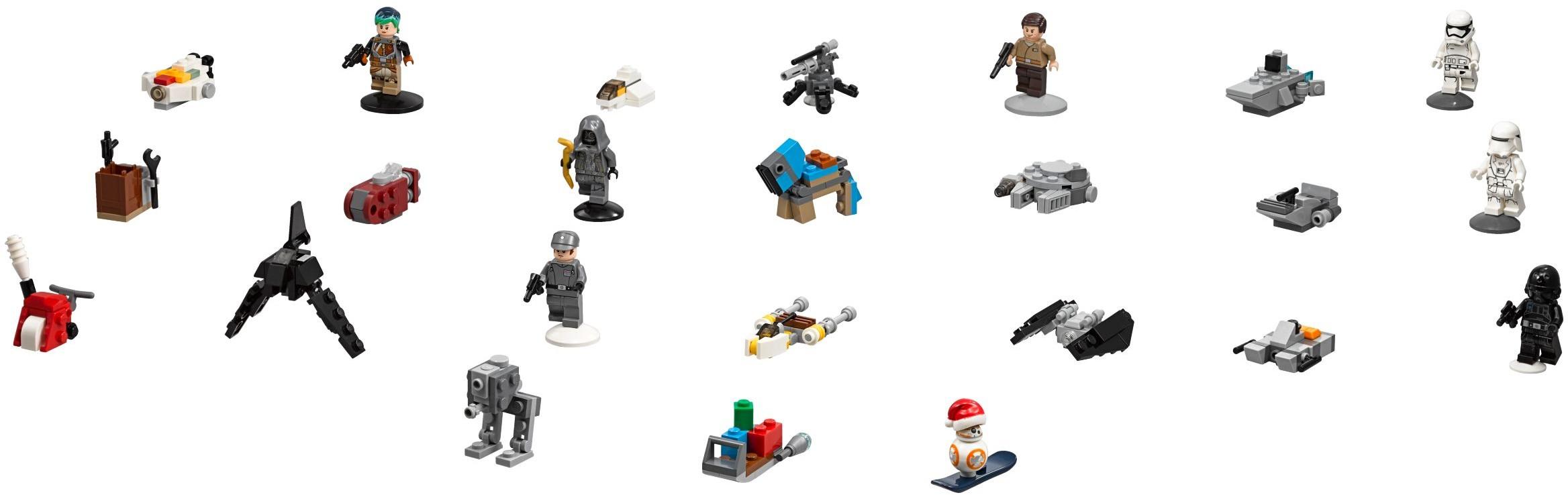 Lego 75184 Star Wars Advent Calendar Instructions, Star Wars pertaining to Lego 75213 Instructions