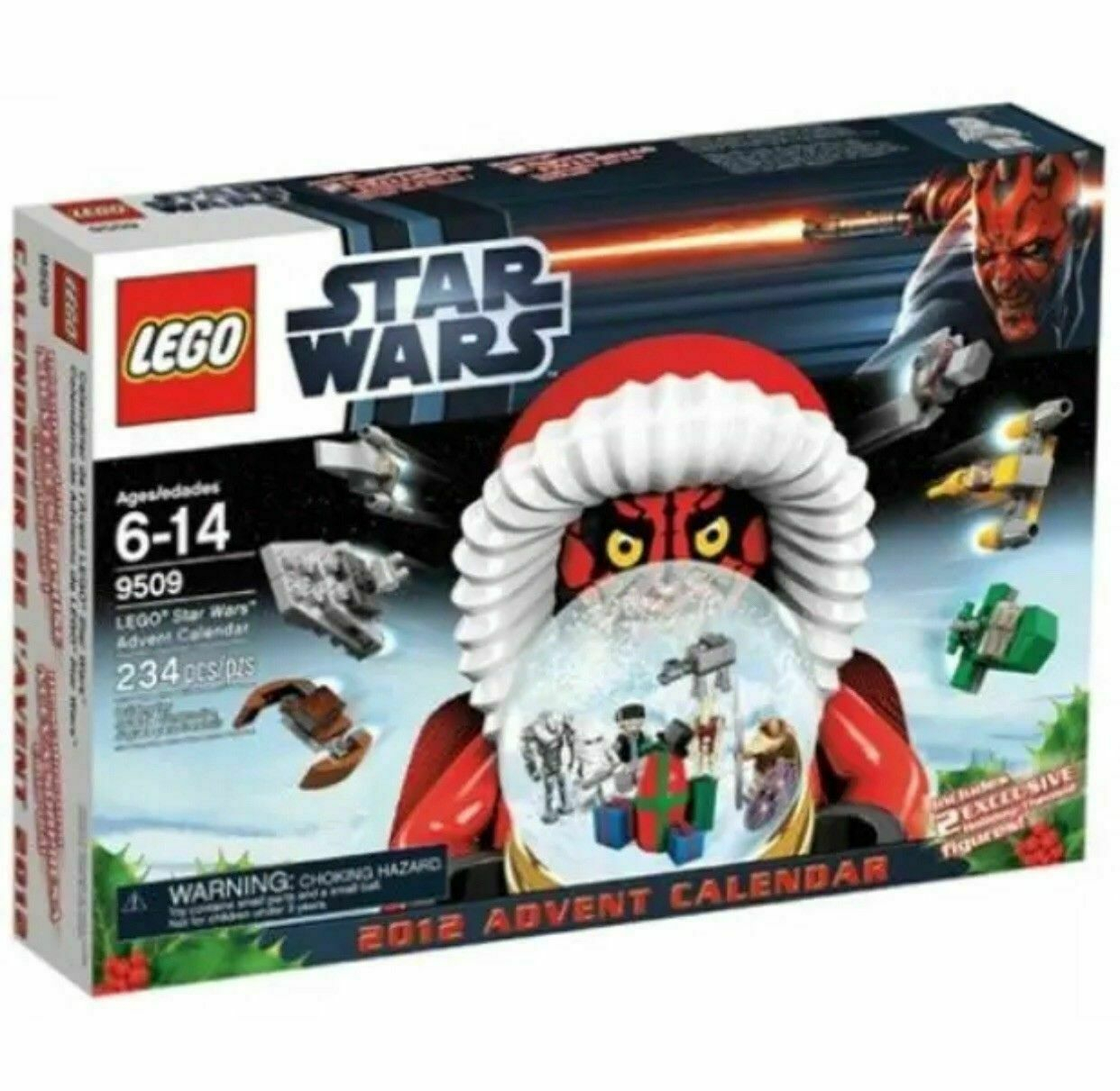 Lego Star Wars 2012 Advent Calendar (9509) with regard to Lego Star Wars Advent Calendar 2011 Instructions