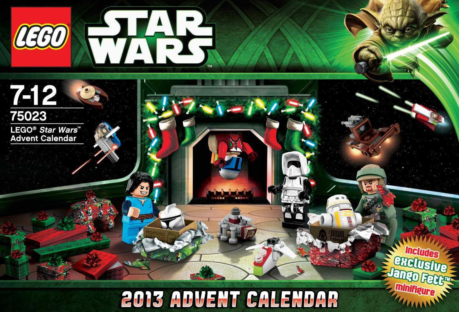 Lego Star Wars 2013 Advent Calendar Discounted | Galactic in Lego Star Wars Calendar 2013