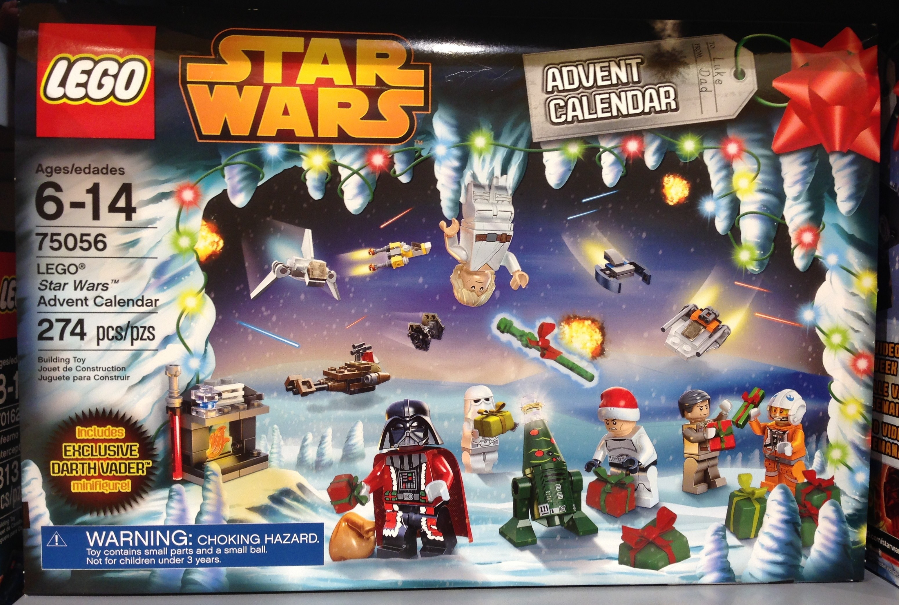 Lego Star Wars 2014 Advent Calendar Released In Stores with Star Wars Advent Calendar 2013