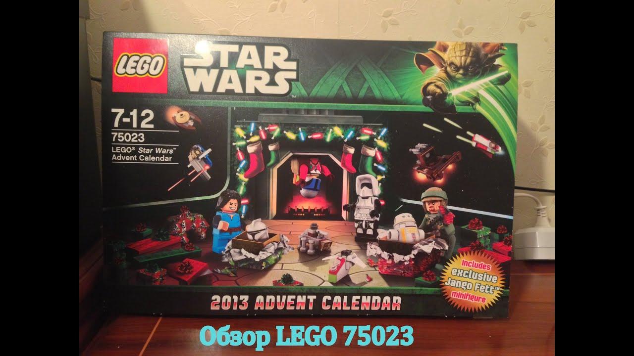 Lego Star Wars 75023 Advent Calendar 2013 Review in Lego Star Wars Calendar 2013