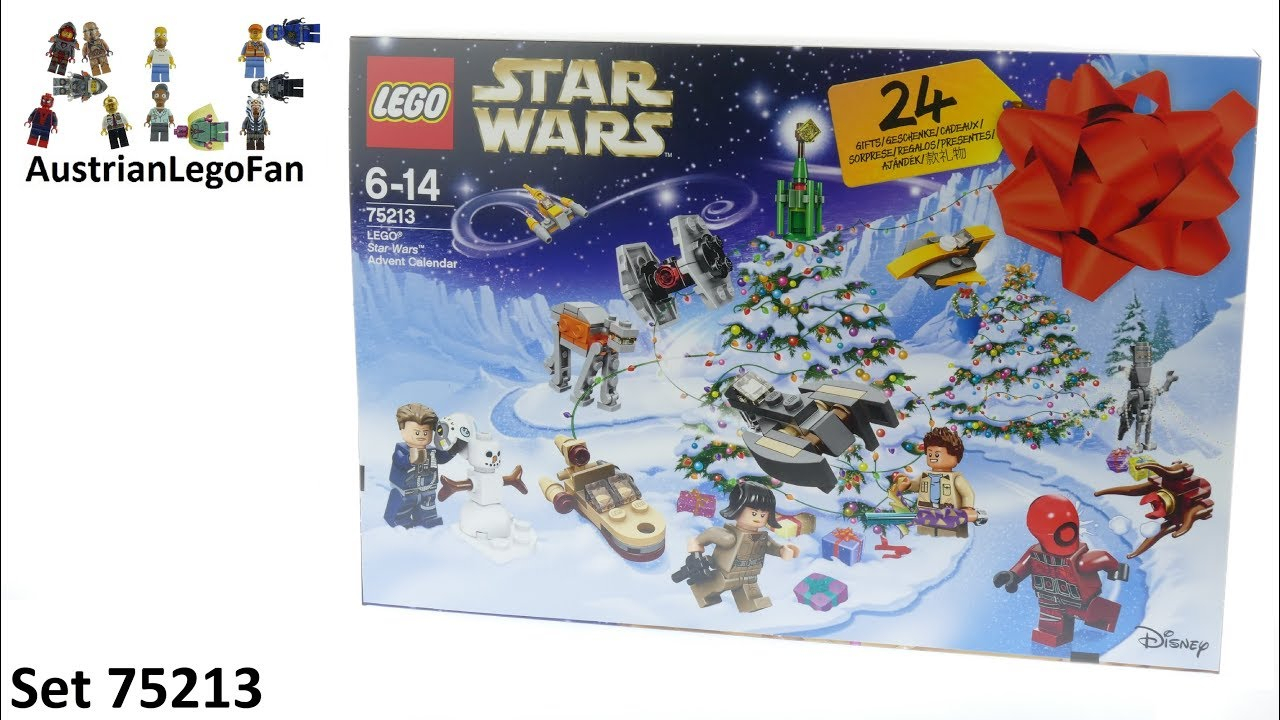 Lego Star Wars 75213 Star Wars Advent Calendar 2018  Lego Speed Build  Review regarding Lego 75213 Instructions