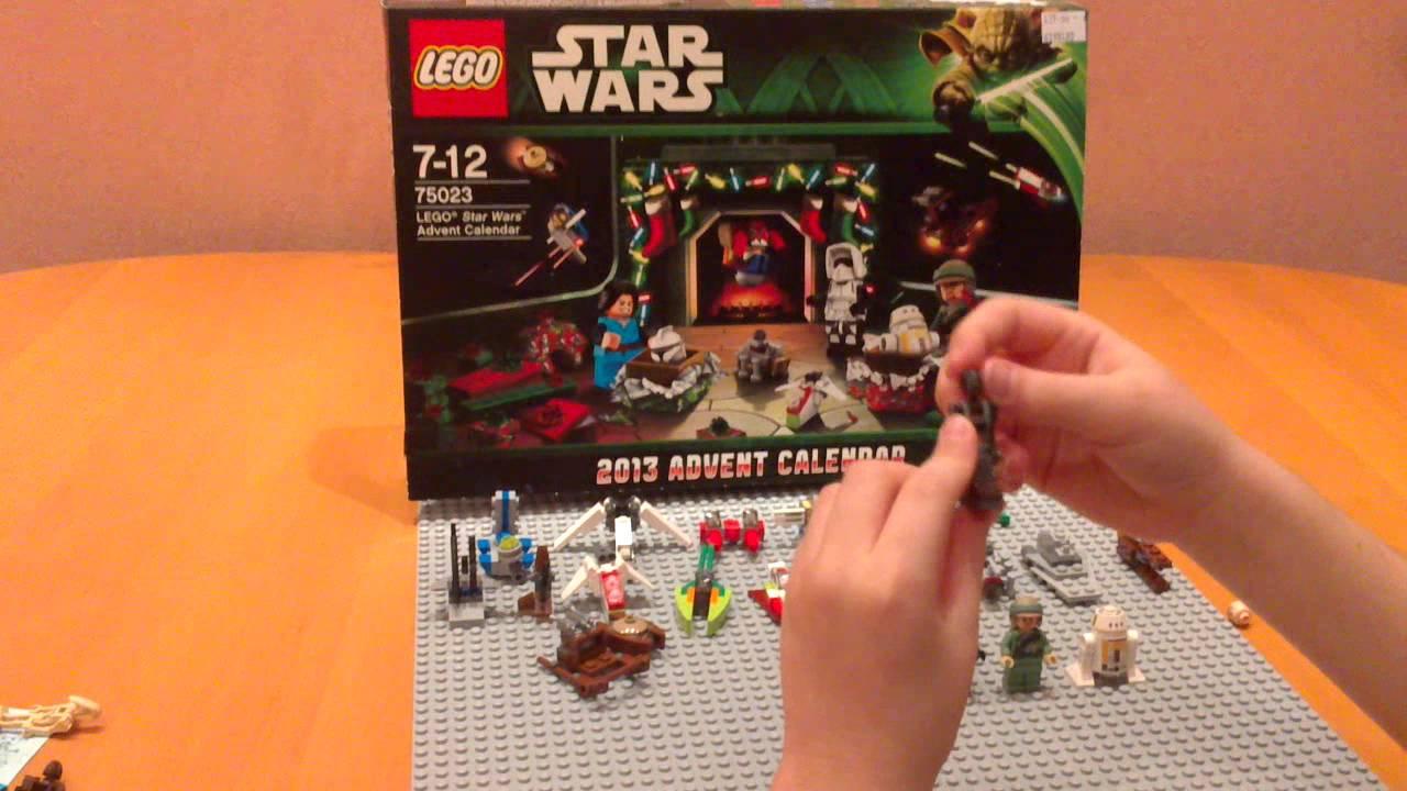 Lego Star Wars Advent 2013 Calendar  Youtube throughout Lego Star Wars Calendar 2013