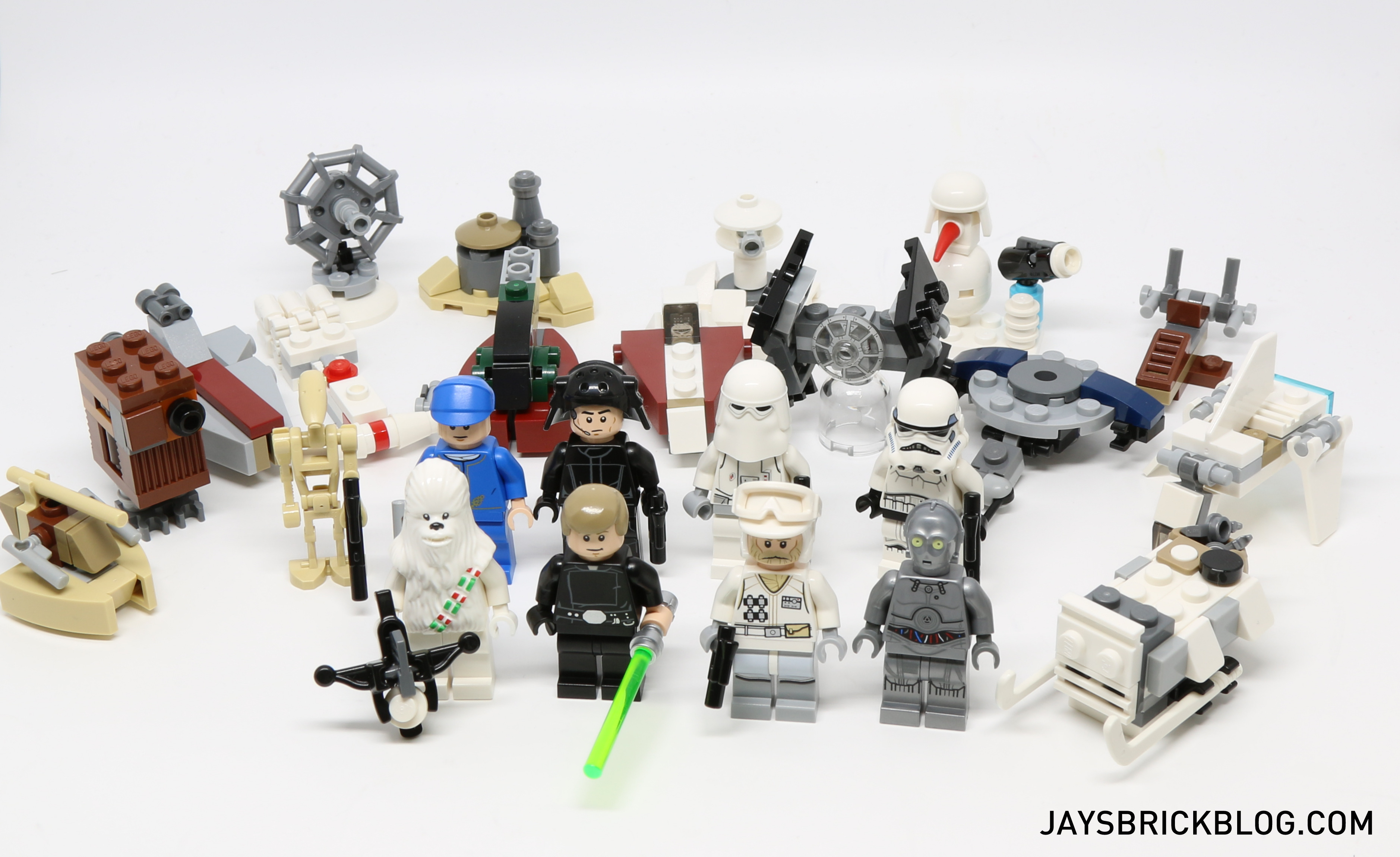 Lego Star Wars Advent Calendar 2016 – Jay's Brick Blog for Lego Star Wars Advent Calendar 2011 Instructions