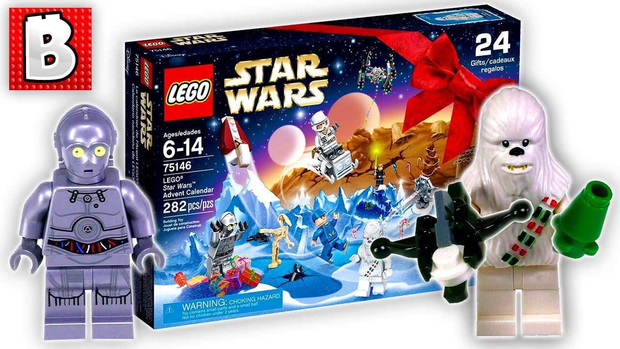 Lego Star Wars Advent Calendar Set 75146 | Unbox Build Time Lapse Review within Lego Star Wars Advent Calendar 2011 Instructions