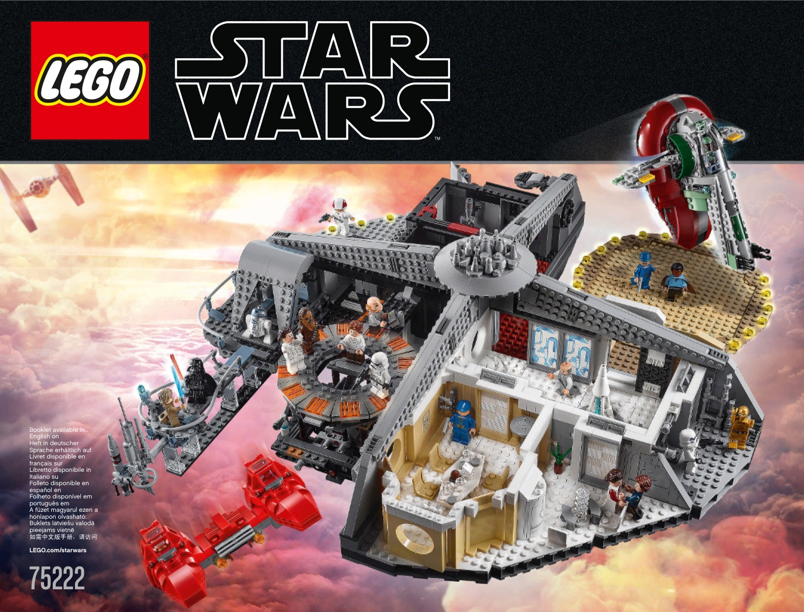 Lego Star Wars Instructions, Childrens Toys with Lego 75213 Instructions