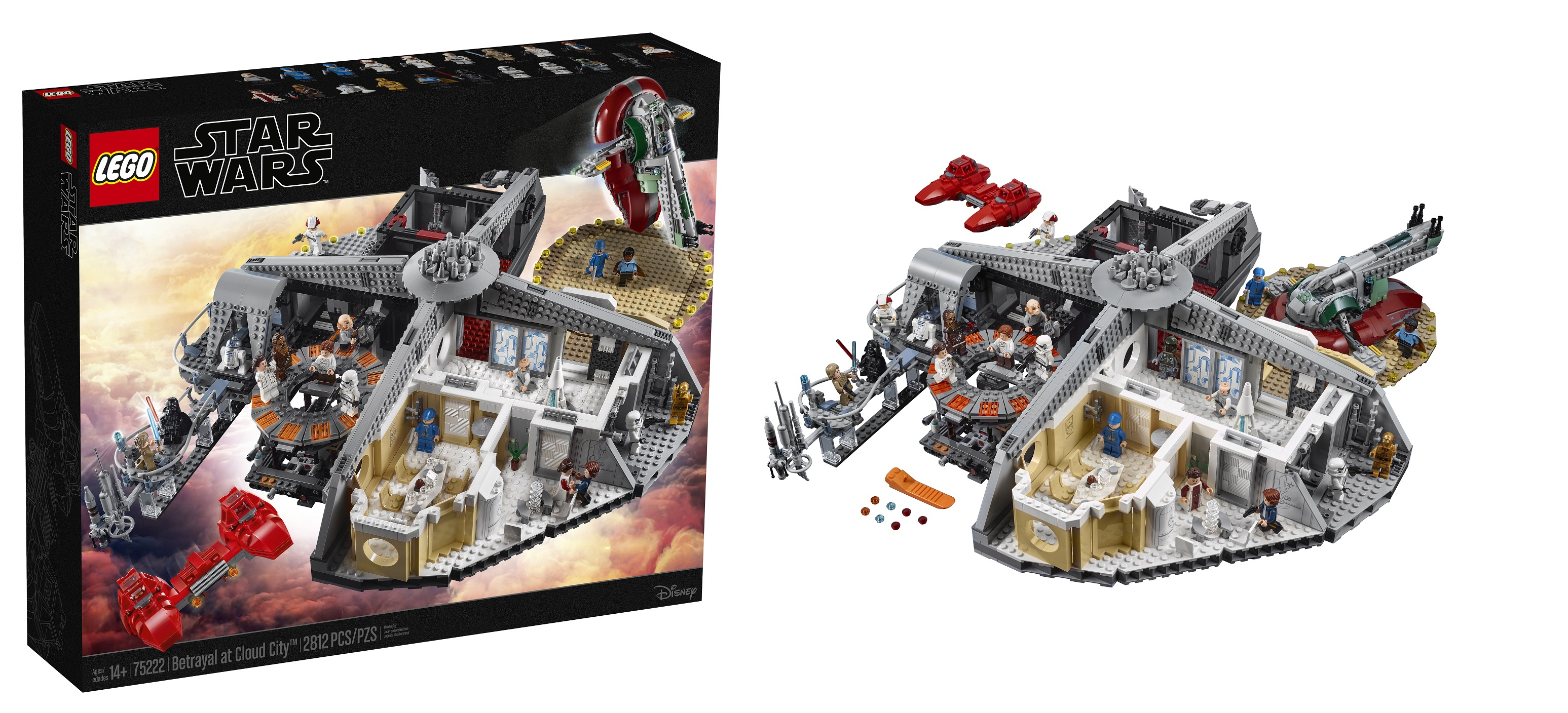 Lego Unveils 75222 Betrayal At Cloud City Playset – Jay's for Jay's Brick Blog