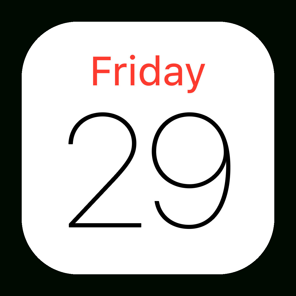 Library Of Library That Looks Like Apple Calendar Png Files inside Apple Calendar App Icon