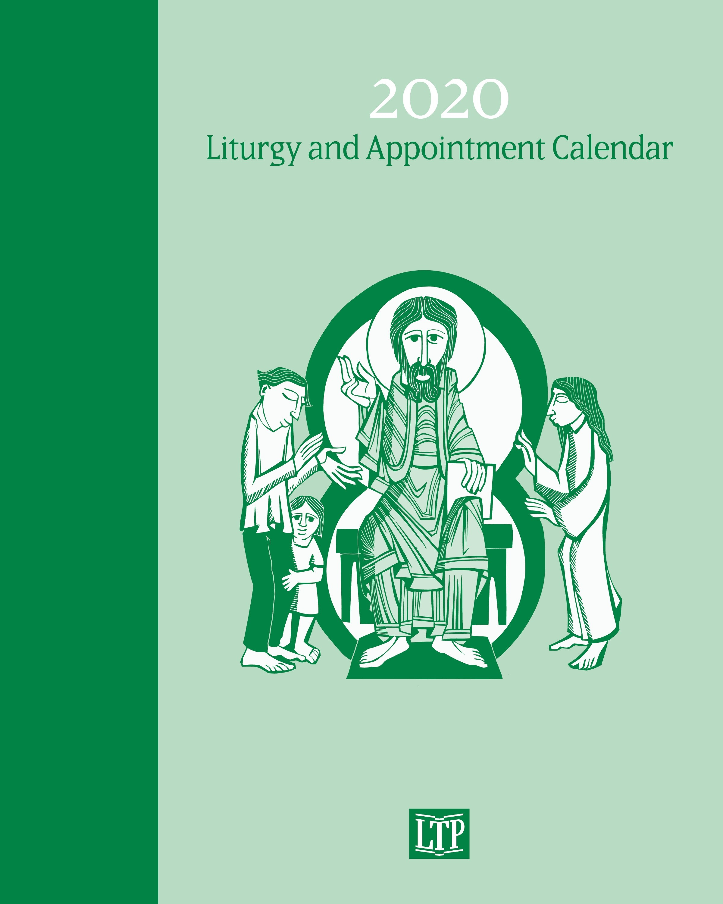 Liturgy And Appointment Calendar 2020  Lac20 for Liturgical Calendar Poster