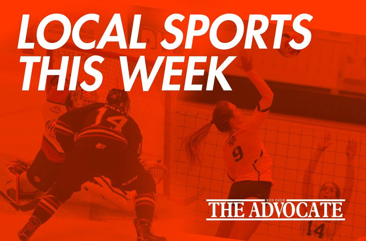Local Sports Schedule: Jan. 1319 – Red Deer Advocate in Red Deer School Calendar