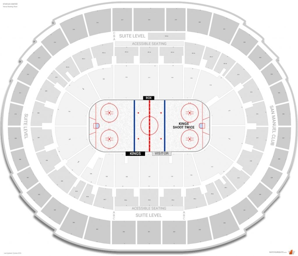 Los Angeles Kings Seating Guide Staples Center Rateyourseats throughout Bok Center Seating Chart