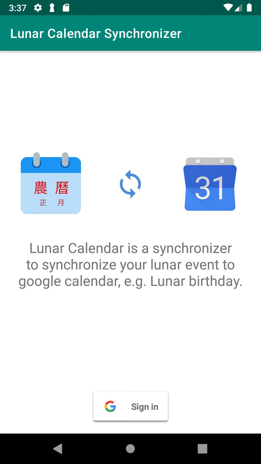 Lunar Calendar Synchronizer Для Андроид  Скачать Apk pertaining to Google Calendar Lunar Birthday
