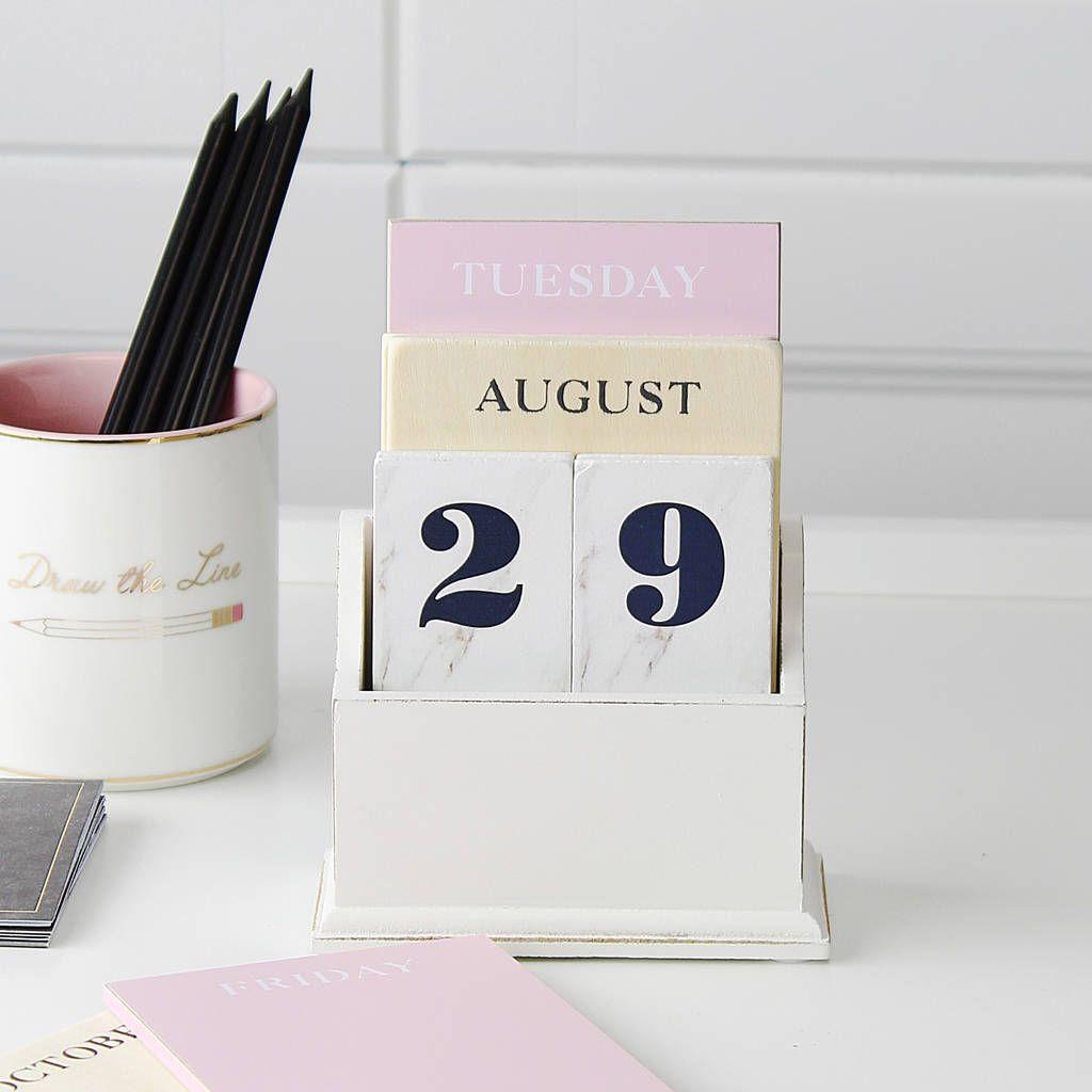 Marble Effect Desk Calendar Ask Seller A Question Save For intended for Dawe School Calendar