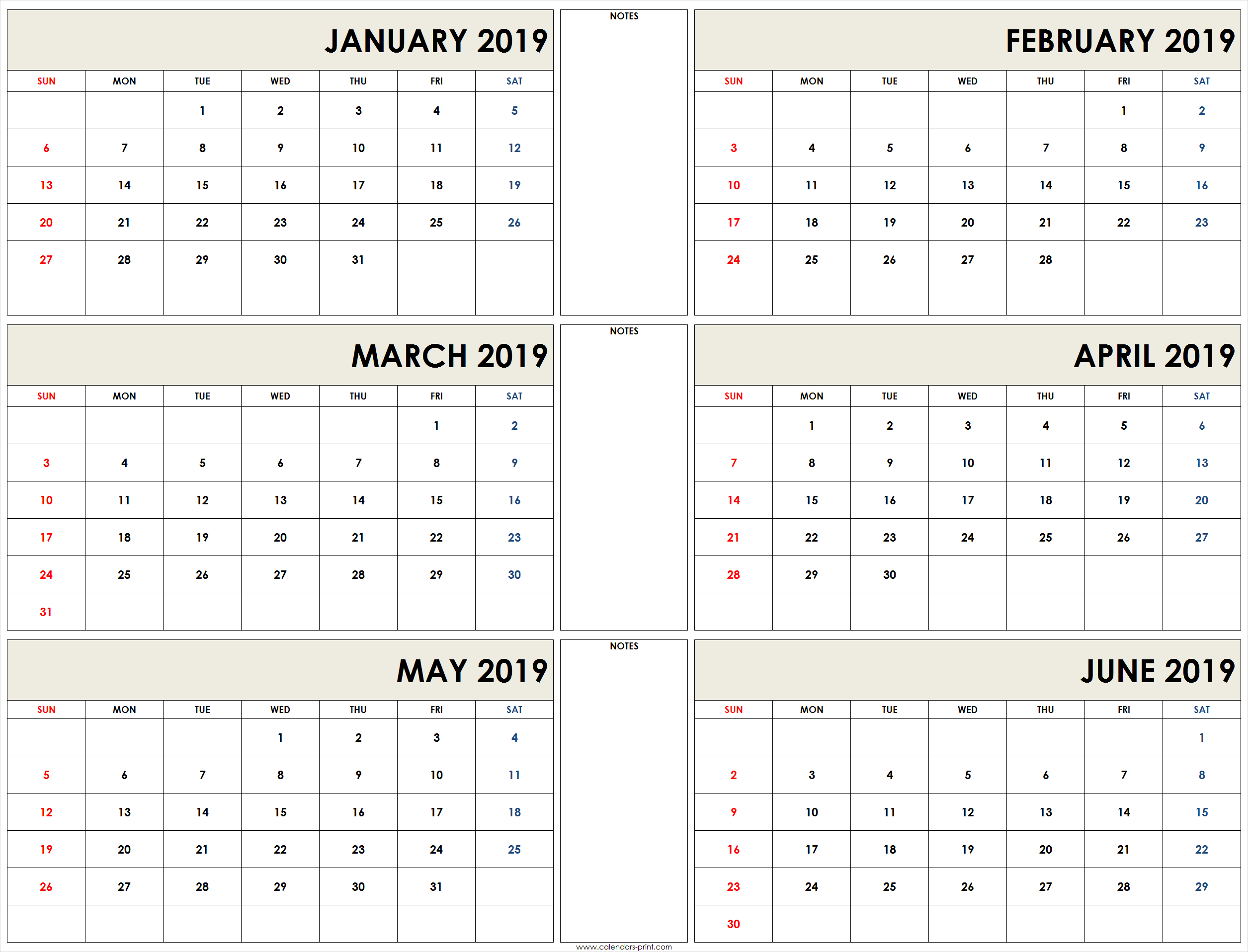 March April 2019 Calendar Printable Template Free Download in 3 Month Calendar Excel