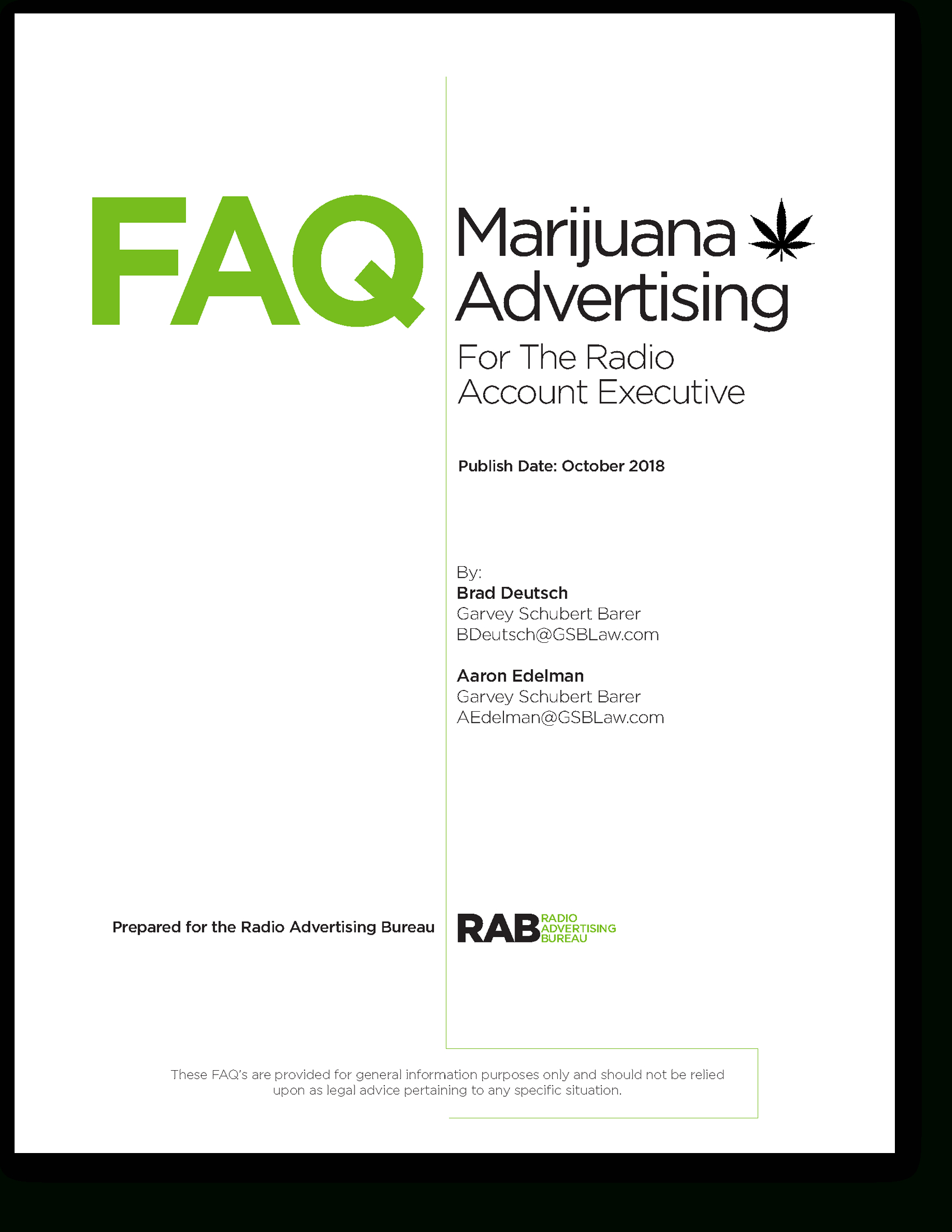 Marijuana Faqs pertaining to Rab Broadcast Calendar