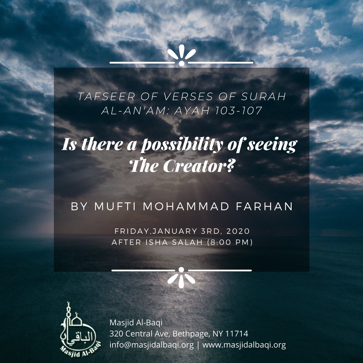 Masjid Albaqi (@masjidalbaqi) | Twitter throughout Isha Lunar Calendar 2020
