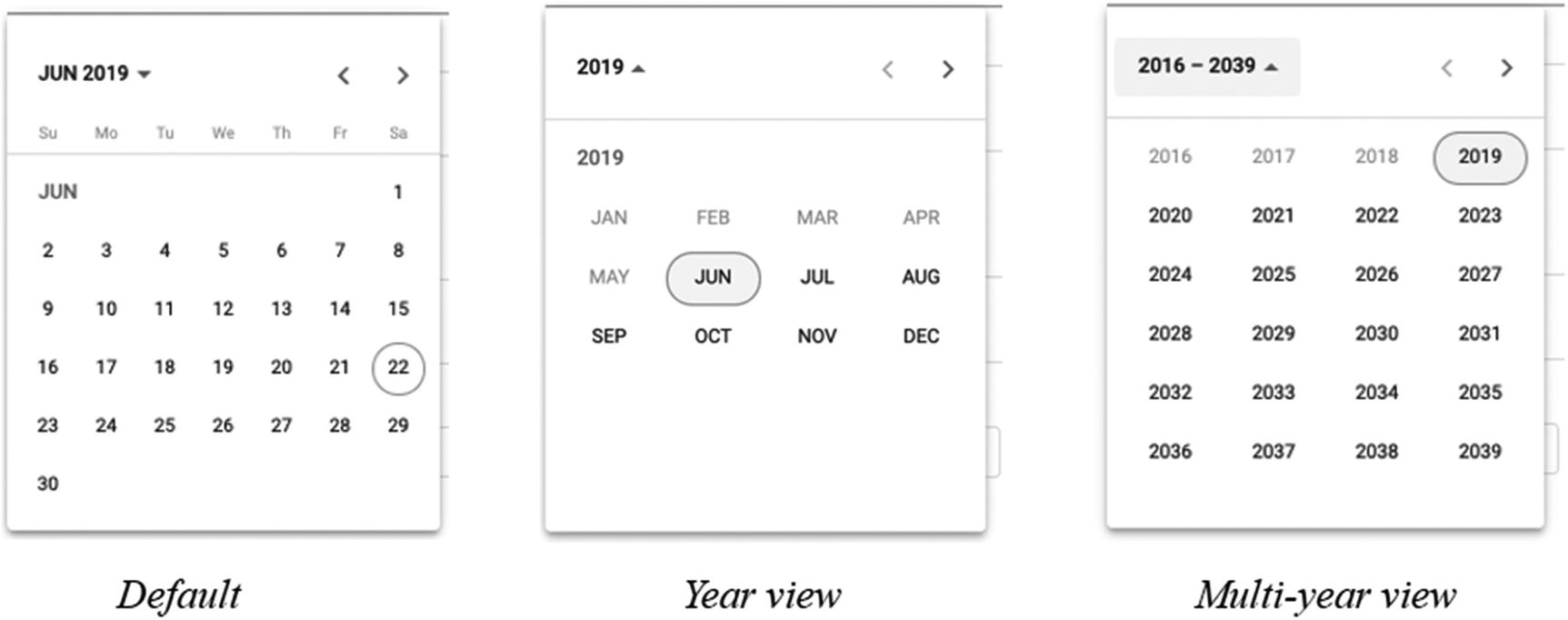 Material Design: Additional Form Fields | Springerlink intended for Pdf Form Calendar Date Picker