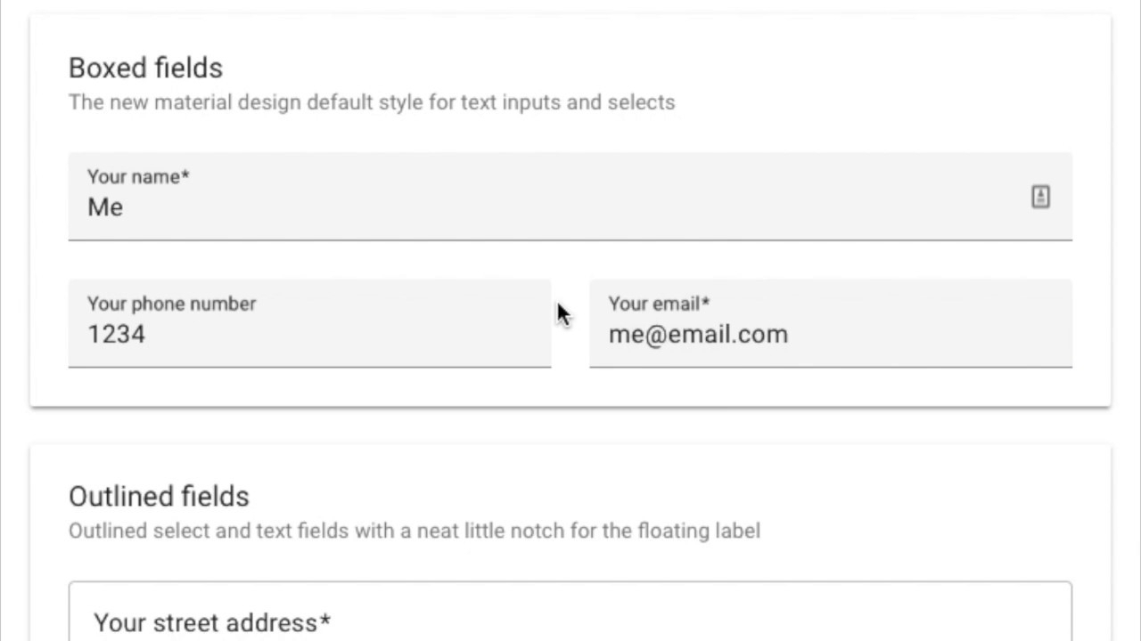 Material Design For Contact Form 7 — Плагин Для WordPress with regard to Text Fields Material