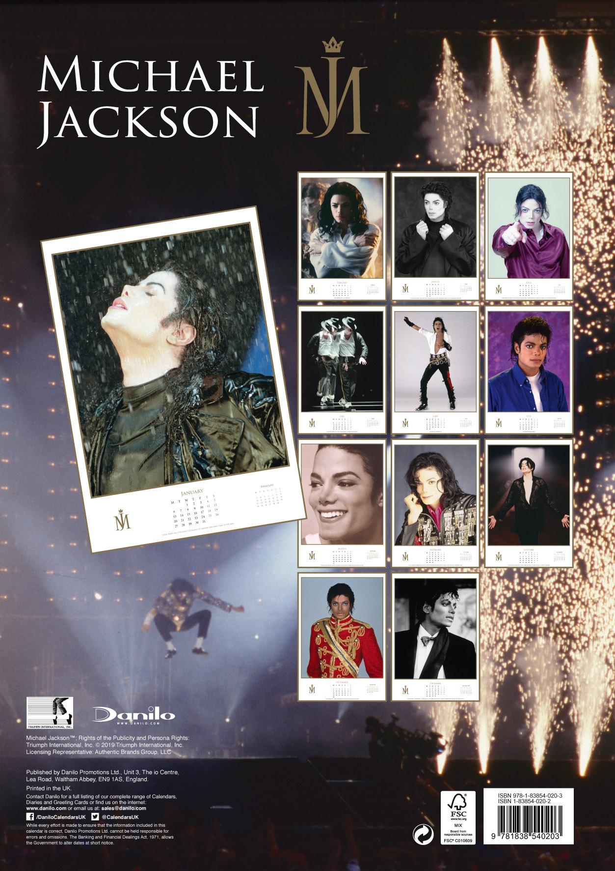 Michael Jackson – 2020 Calendar with regard to Calendario 2020 Michel