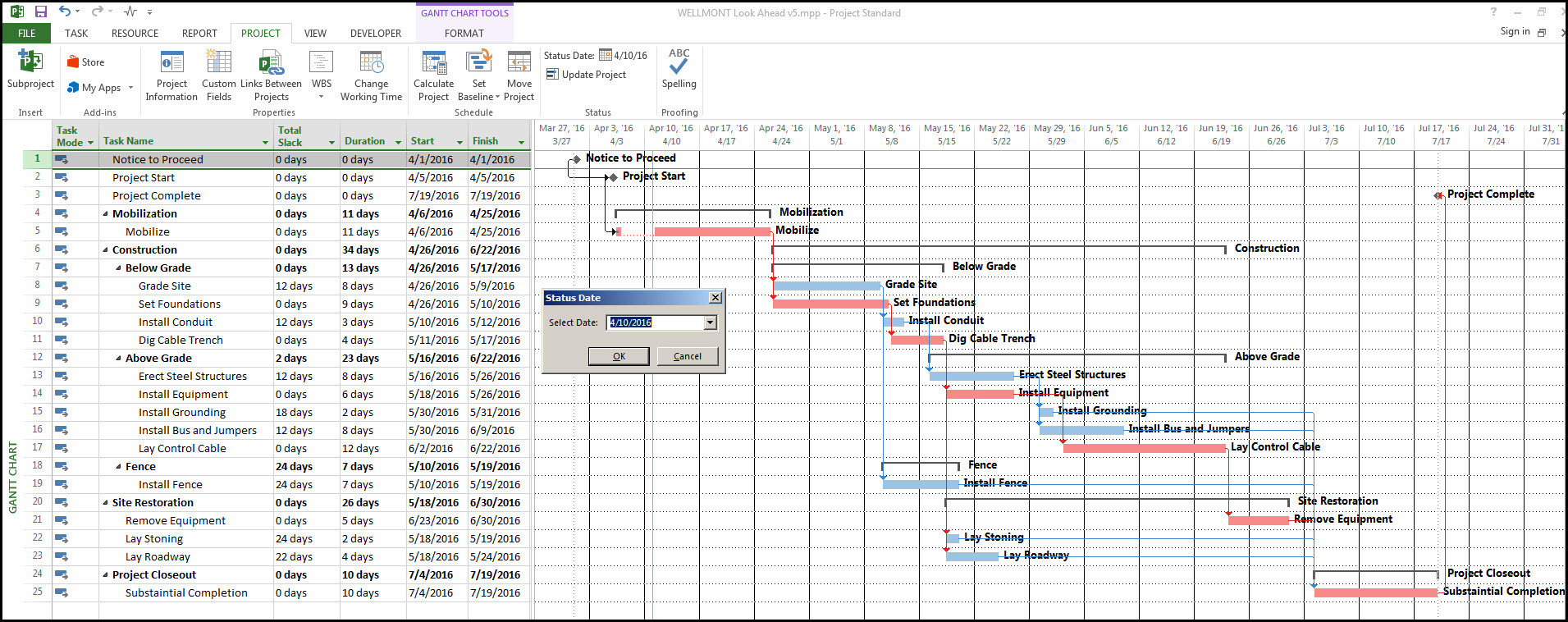 Microsoft Project Look Ahead Filter And How To Create One intended for Look Ahead Schedule Template