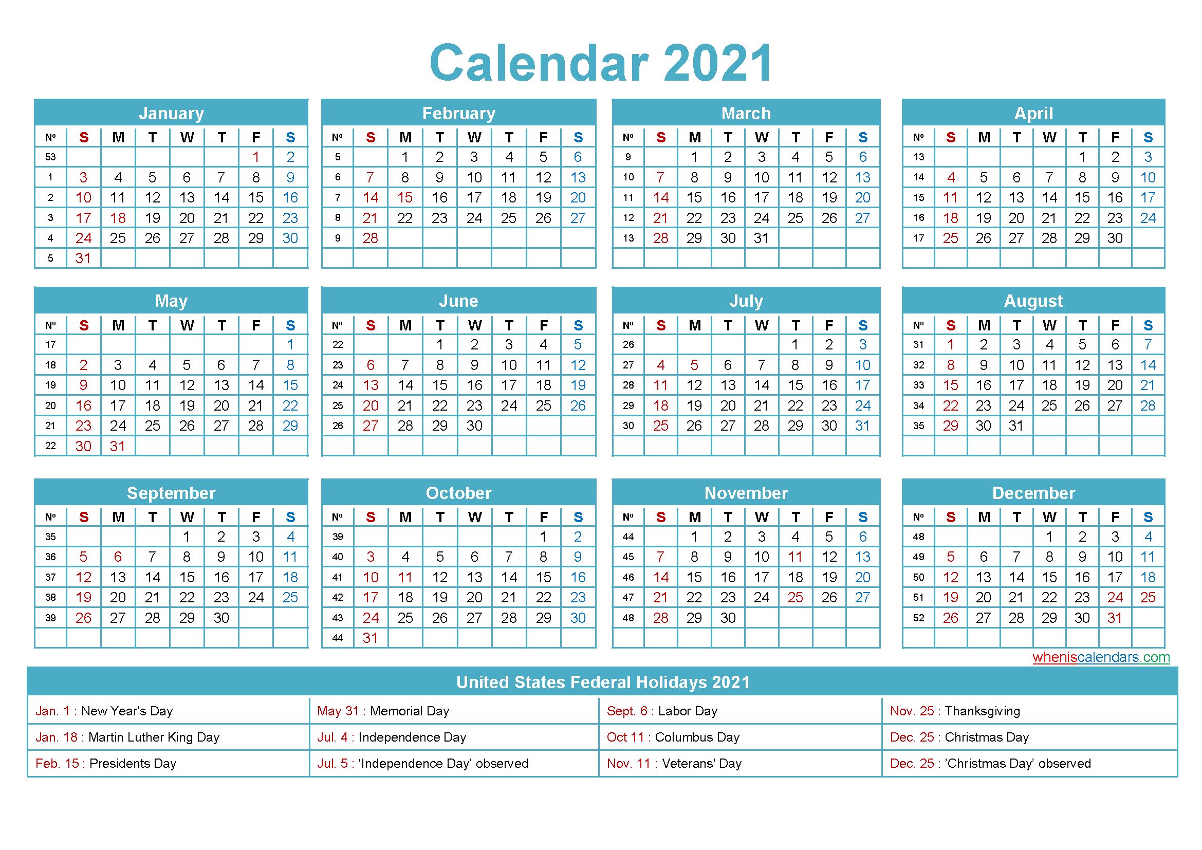 Mini Desk Calendar 2021 Free Printable | Free Printable 2020 for Mini Calendar Template