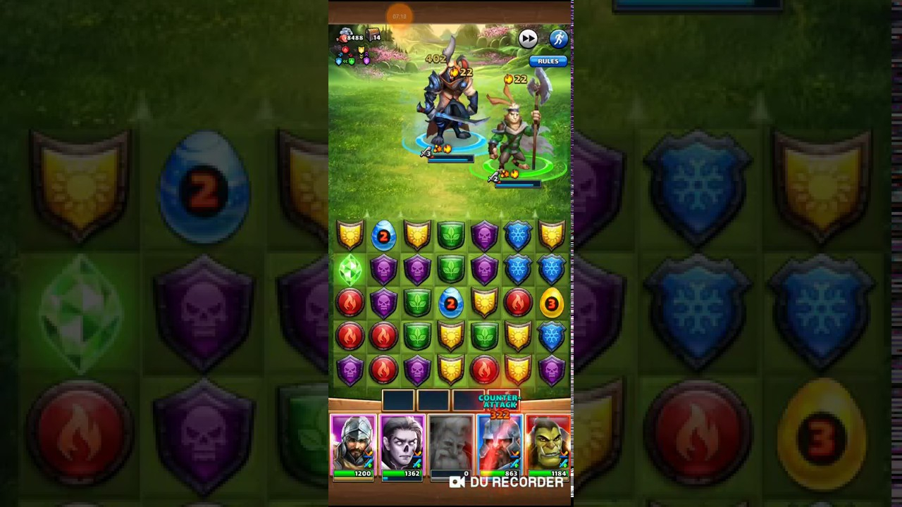 Mogulemon Ep : Springvale Last Stage With 4 Star Heroes within Springvale Empires And Puzzles