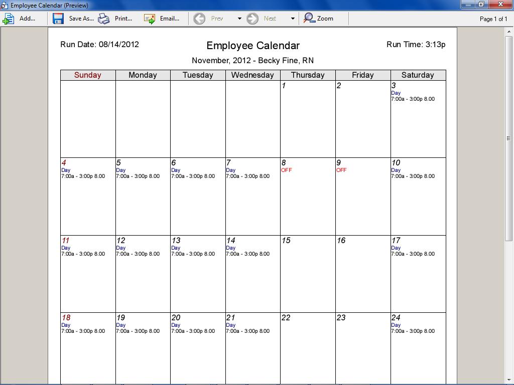 Monthly Calendar Schedule Maker – Printable Year Calendar with regard to Employee Schedule Creator