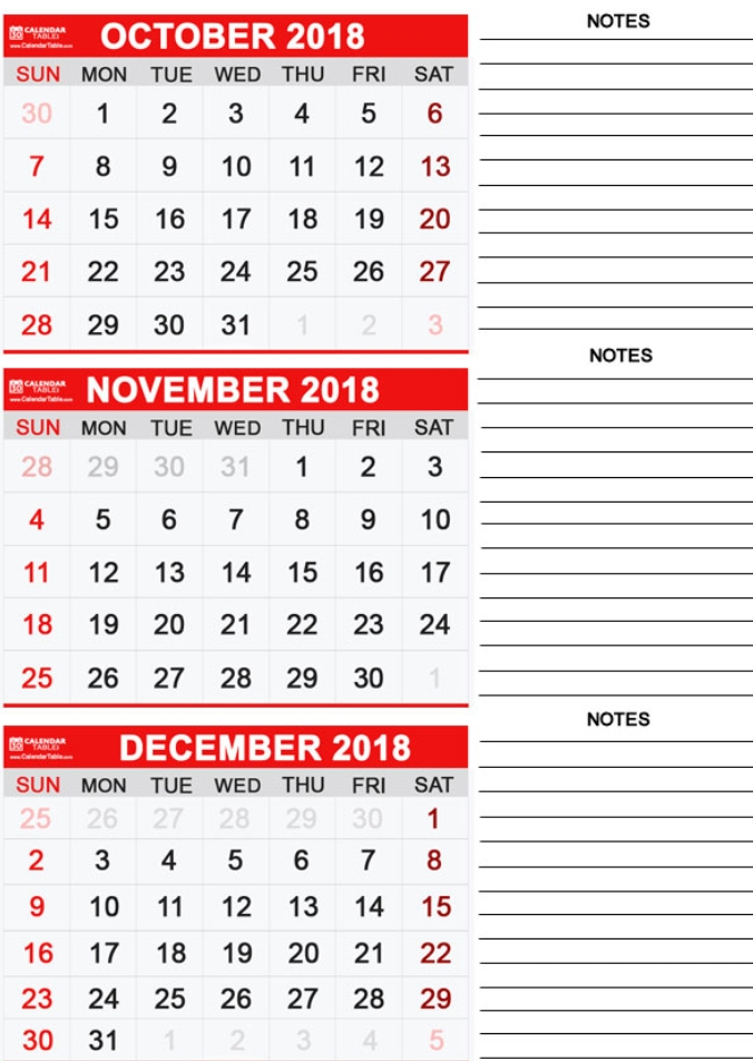 Monthly Calendar Templates Excel | Perpetual Calendar Journal with 3 Month Calendar Excel