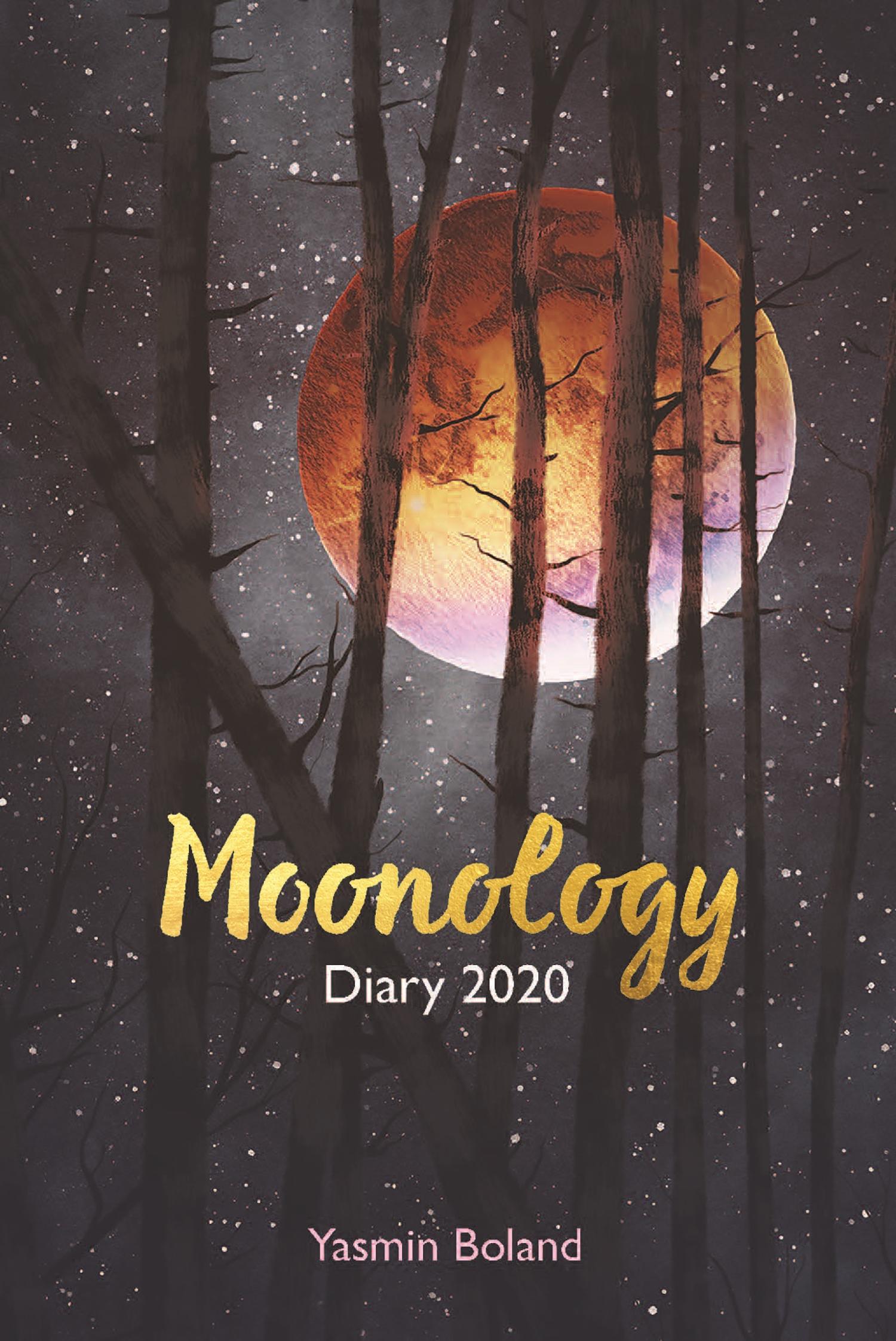 Moonology Diary 2020 Yasmin Boland within Om Journal Lunar Calendar