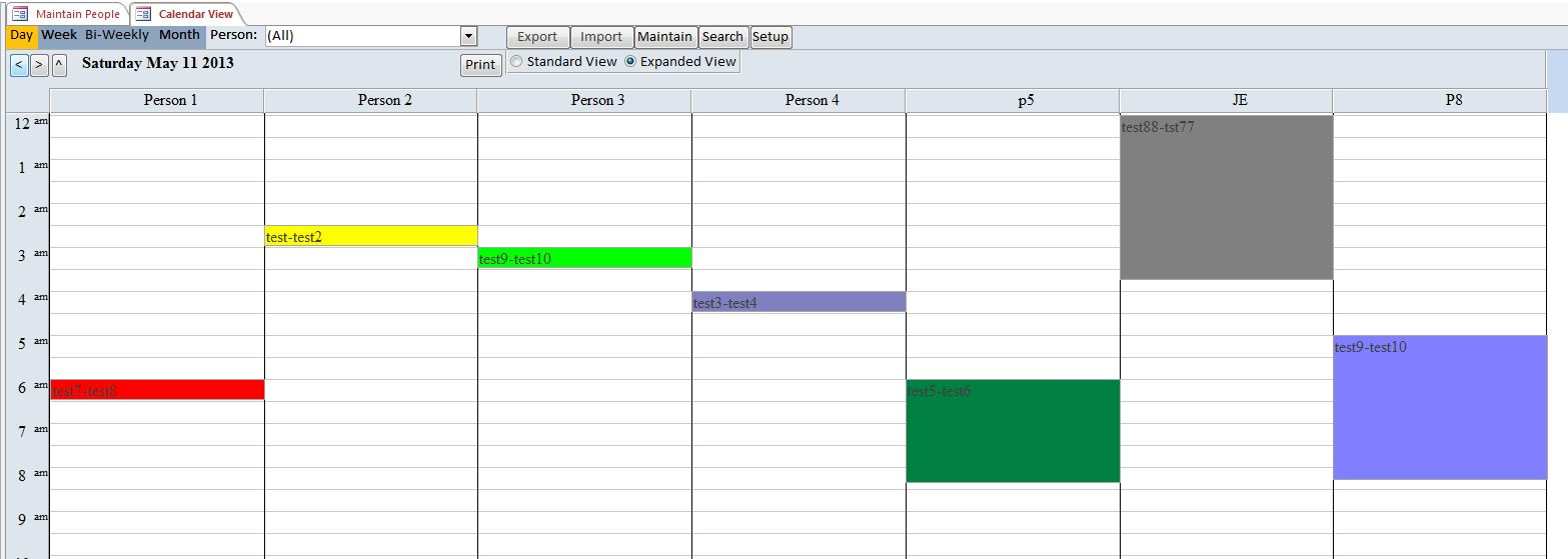 Mowing Lawn Care Database Template | Lawn Mowing Software with Lawn Care Crm