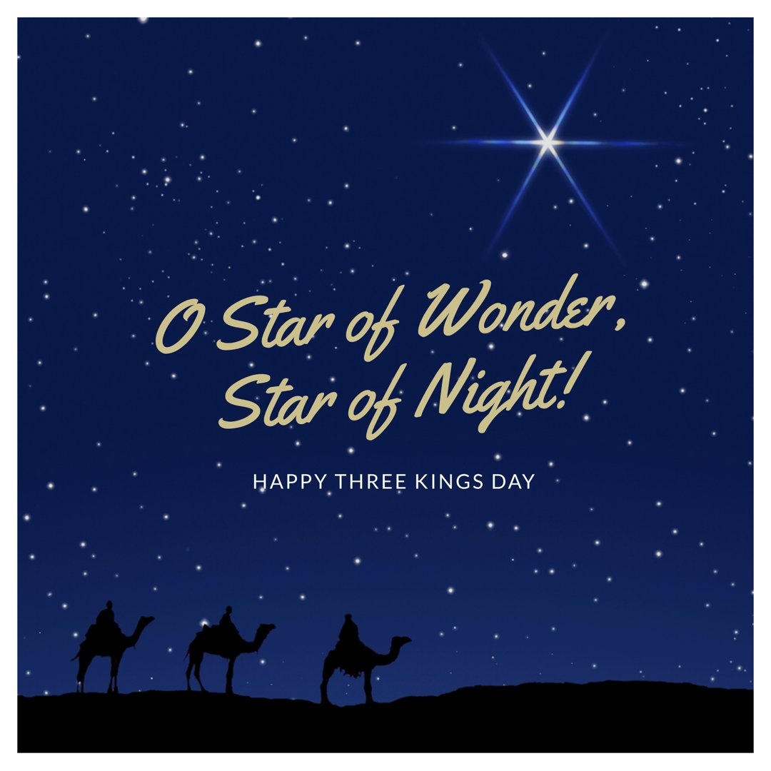 "Msgr. Pace High School On Twitter: ""wishing Many Blessings intended for Three Kings Day 2021"