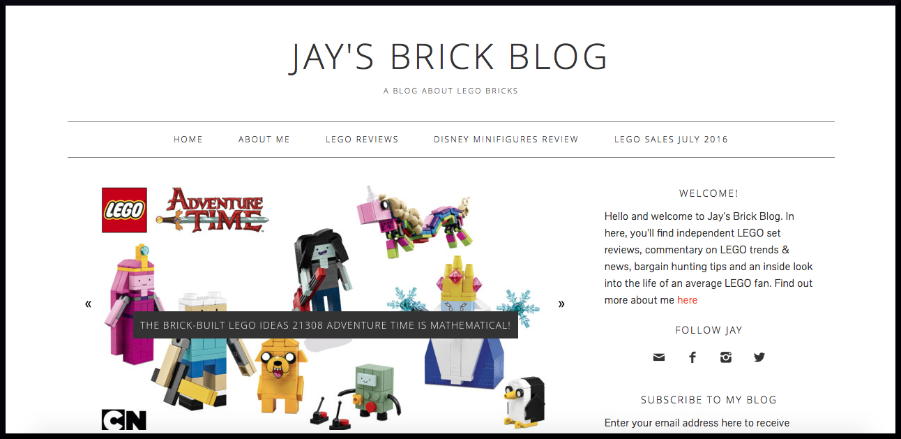 My Favourite Lego Blogs  My Lego Talk with Jay's Brick Blog