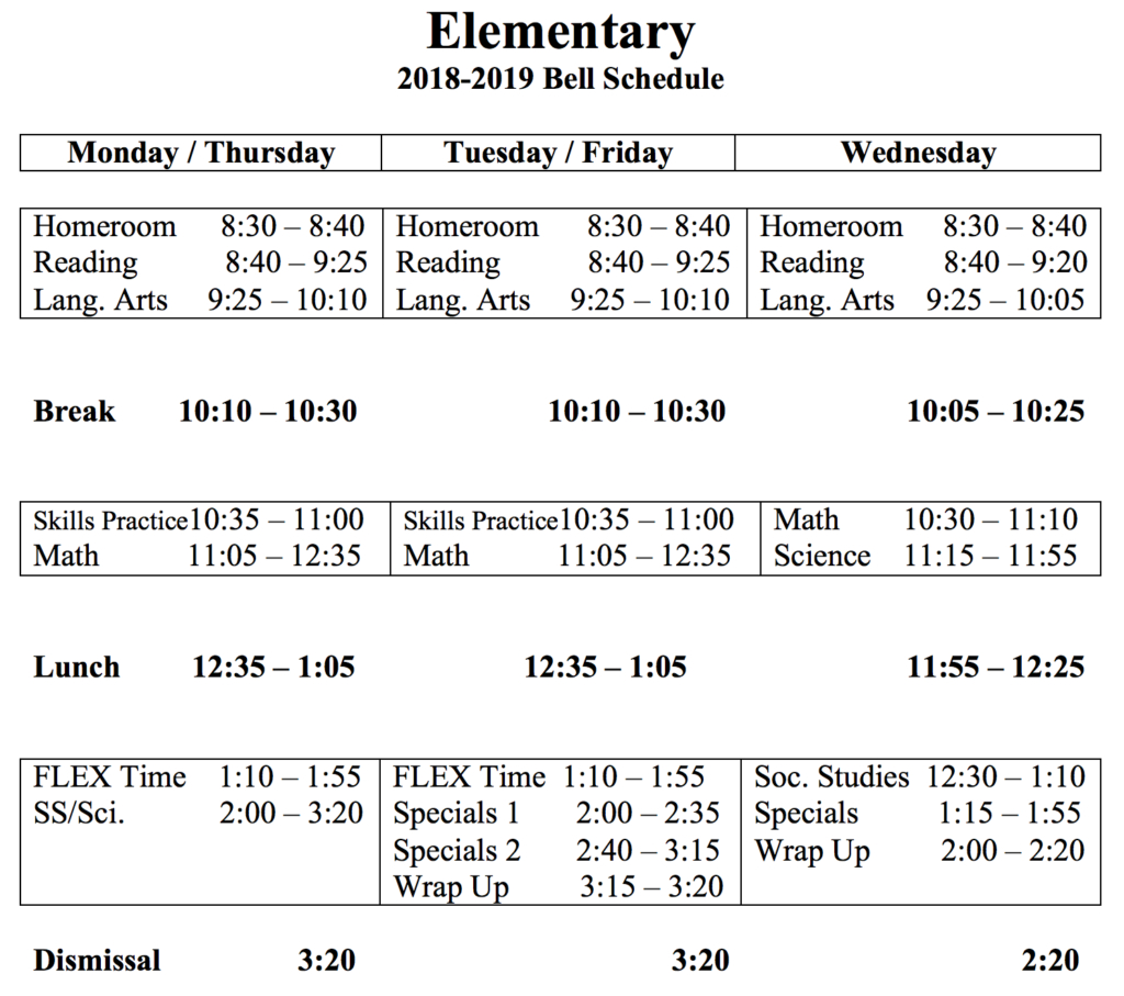 My Pbs – Pace Brantley School inside Haines City Bell Schedule