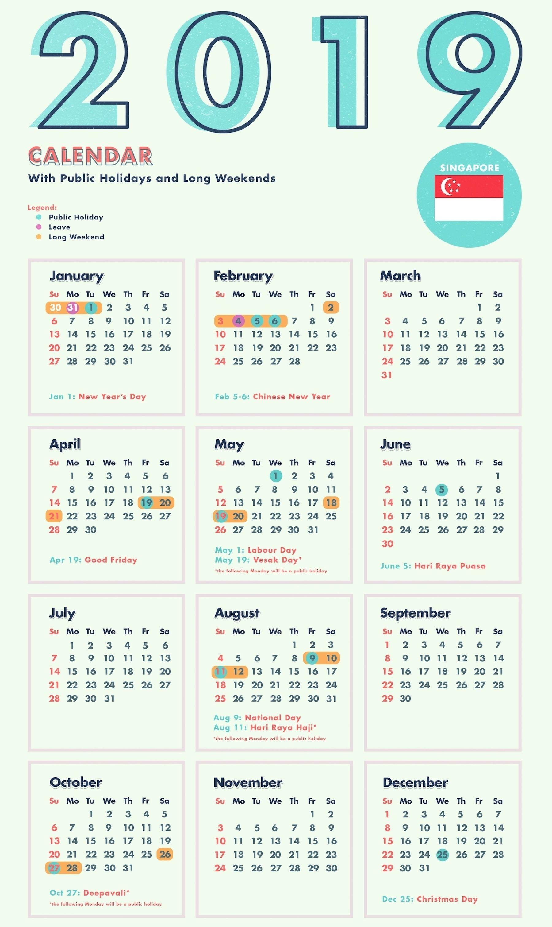 Myanmar Calendar 2019 January | Calendar Template Printing for National Day Calendar At A Glance