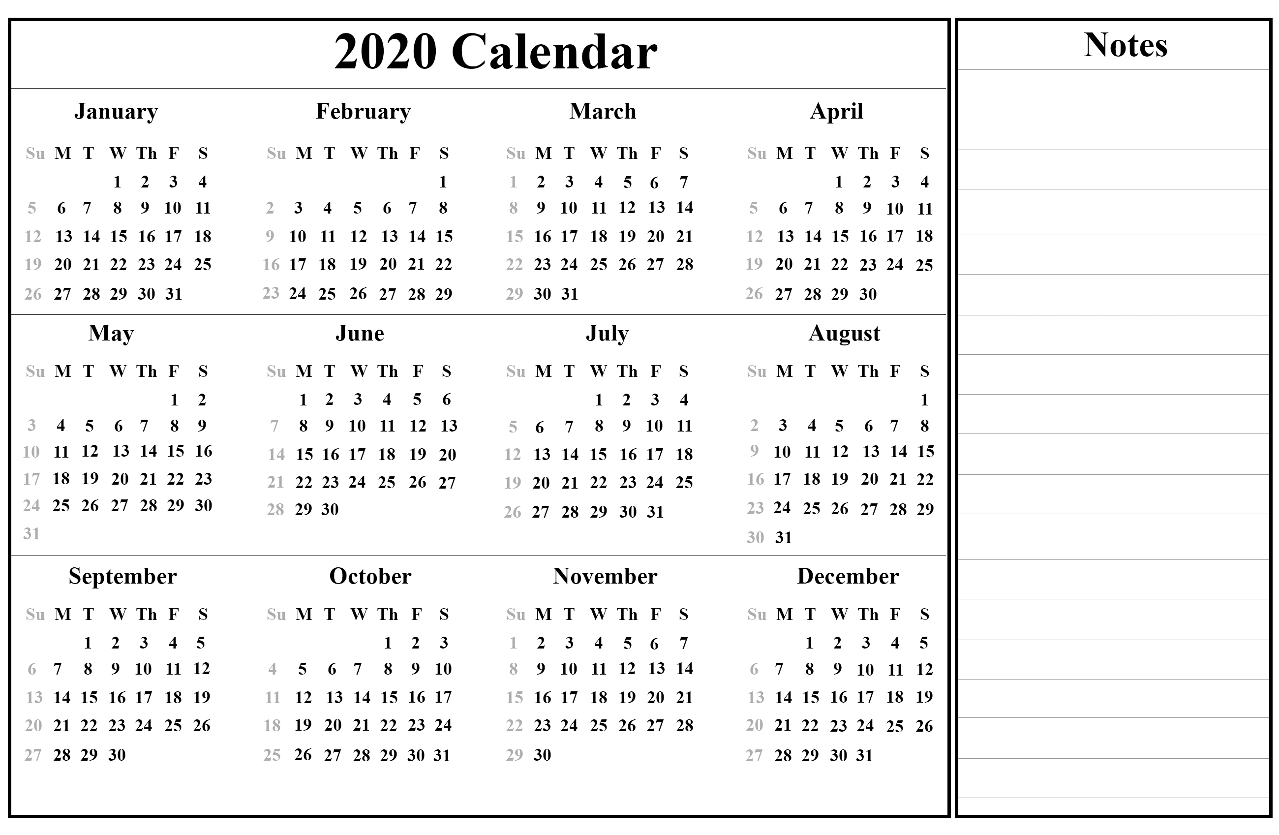 Nanakshahi Calendar 2020 January | Calendar Template Printable with Khalsa Heera Jantri 2020 January
