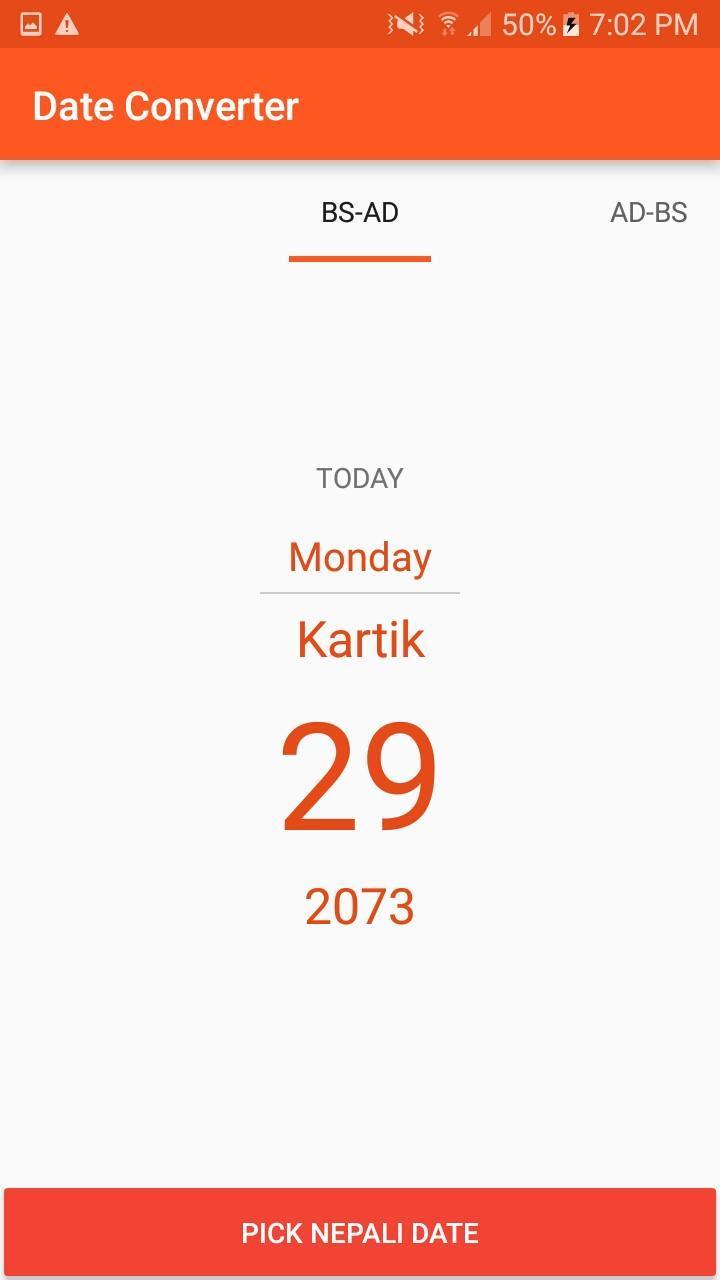 Nepali Date Converter For Android  Apk Download regarding Nepali Date Picker