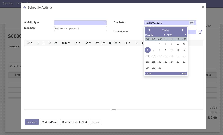 Nepali Date System | Odoo Apps throughout Nepali Date Picker