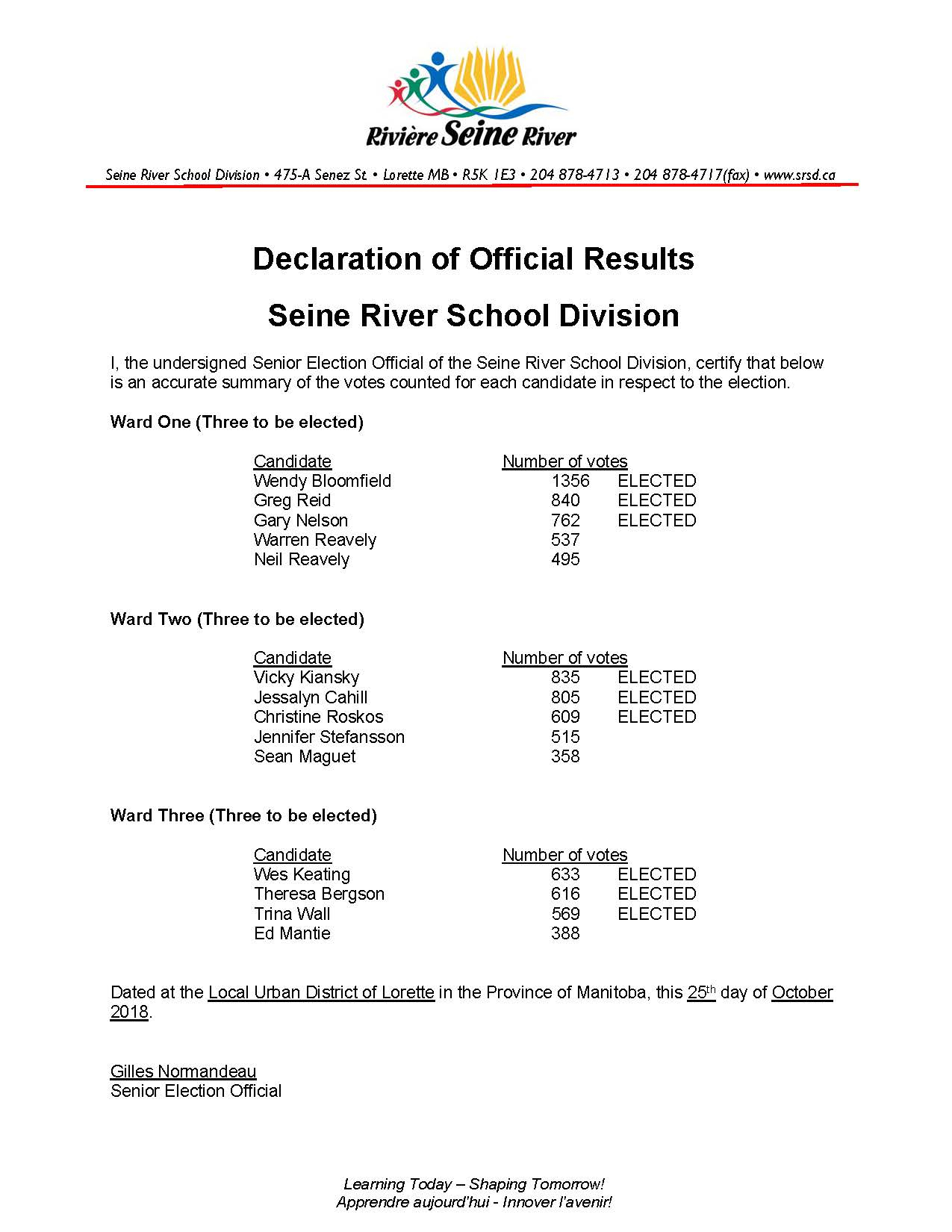 News Archive  Seine River School Division with regard to Seine River School Division Calendar