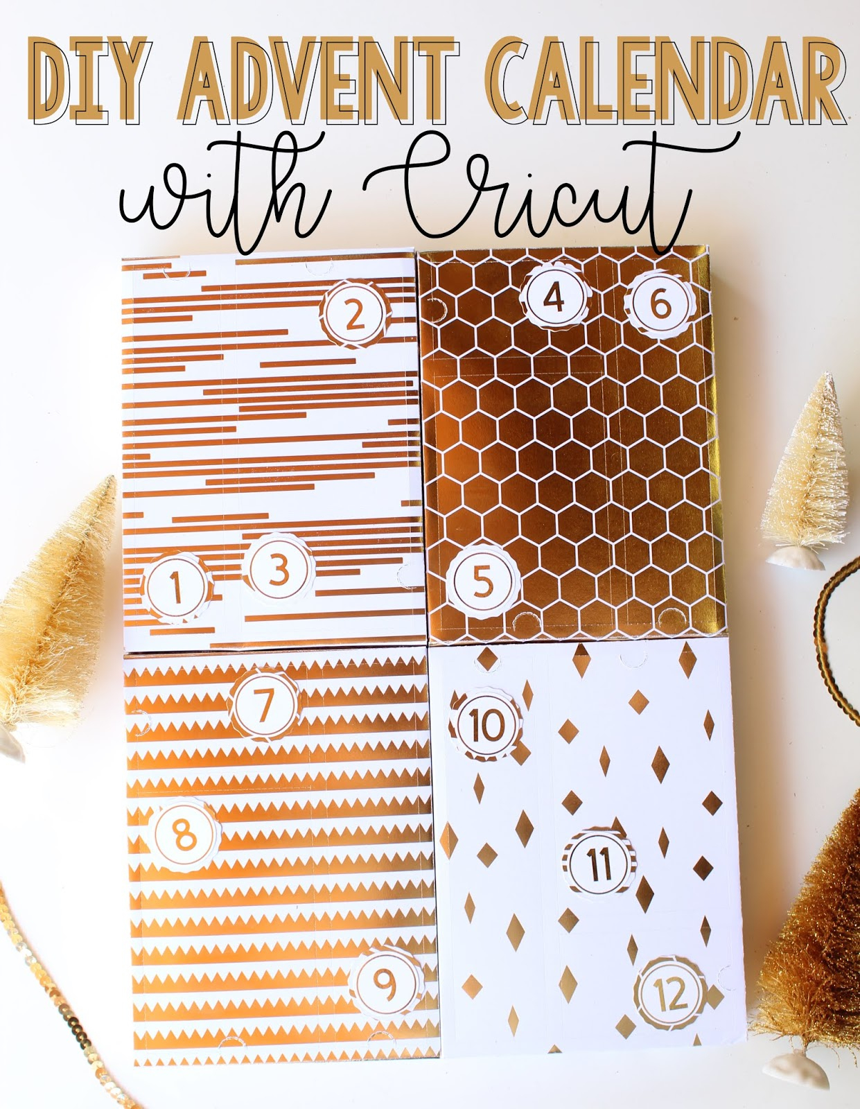 Not So Clishéa: Diy Advent Calendar With Cricut within Bts Advent Calendar