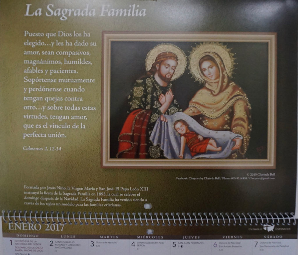 Noteworthy – Clory's Gallery with regard to Catholic Extension Calendar